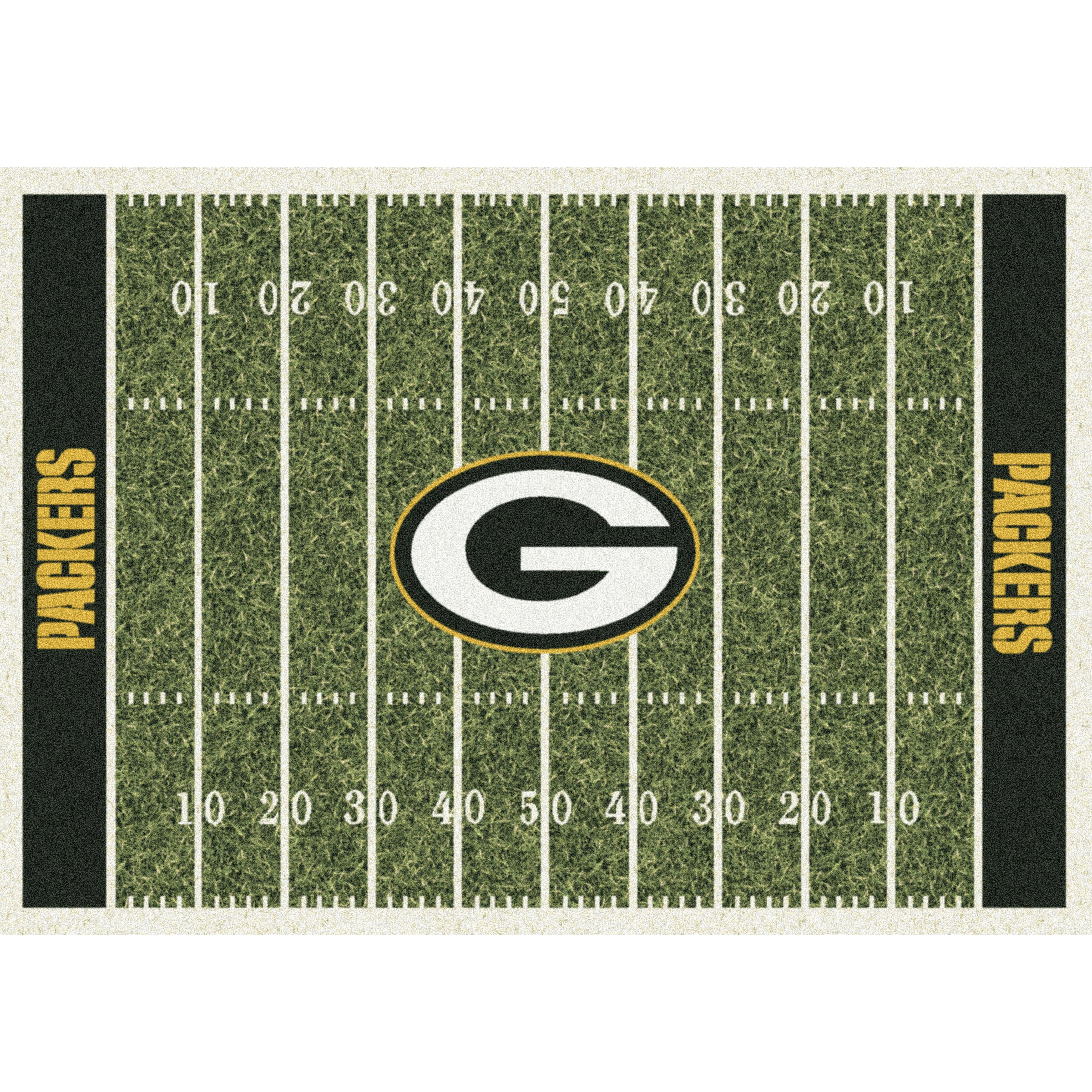Green Bay Packers Imperial 6' x 8' Homefield Rug