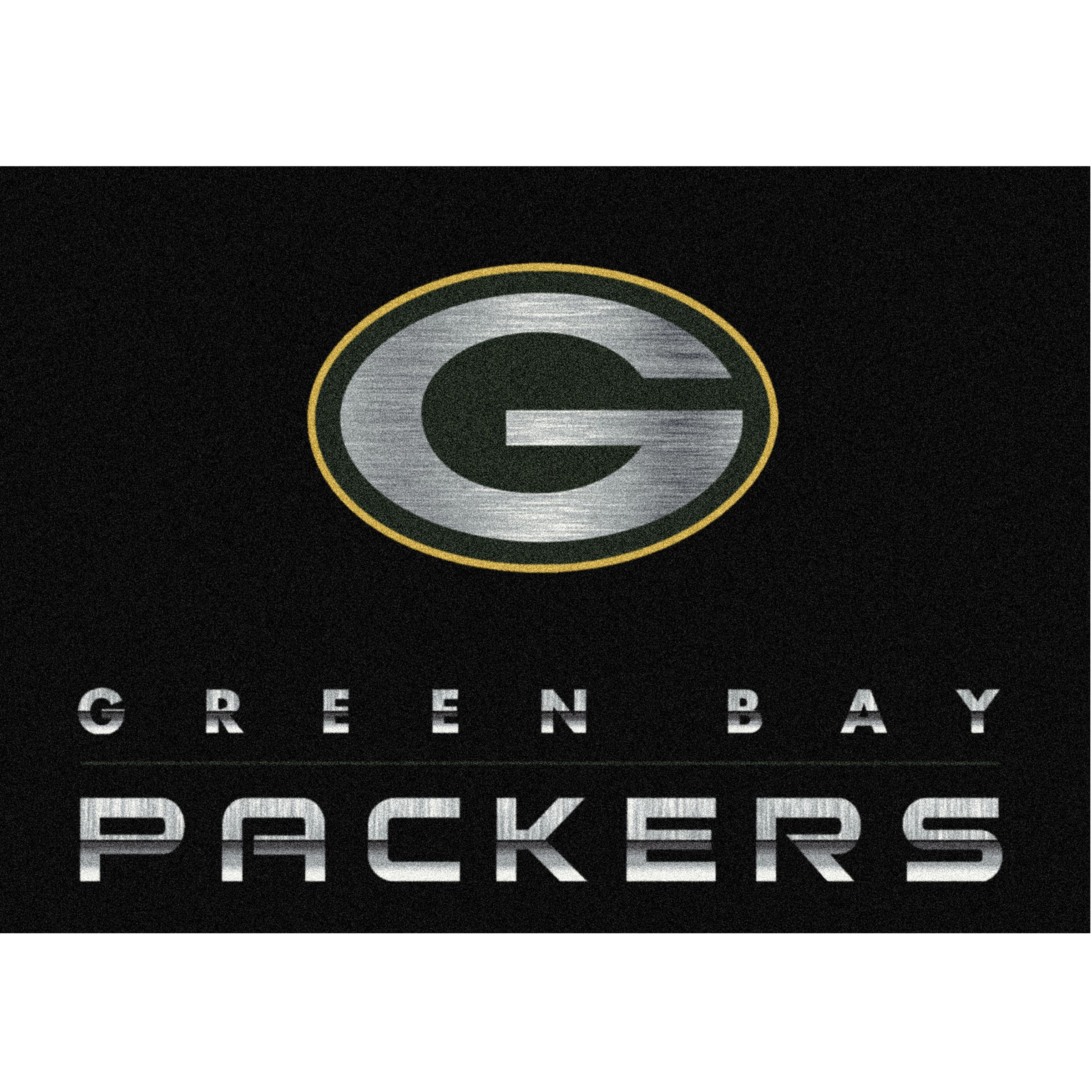 Green Bay Packers Imperial 8' x 11' Chrome Rug