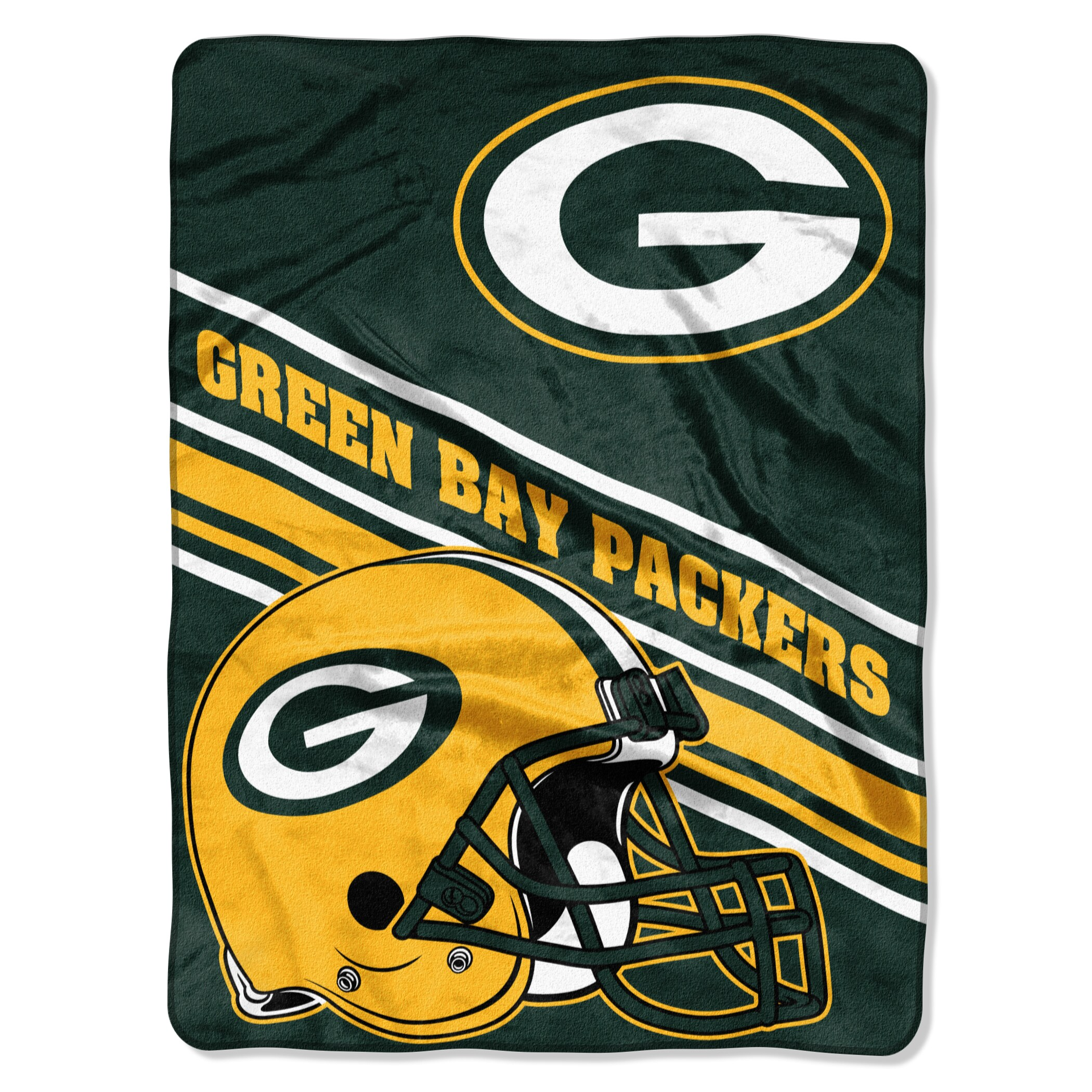 Green Bay Packers The Northwest Company 60'' x 80'' Slant Rashcel Throw