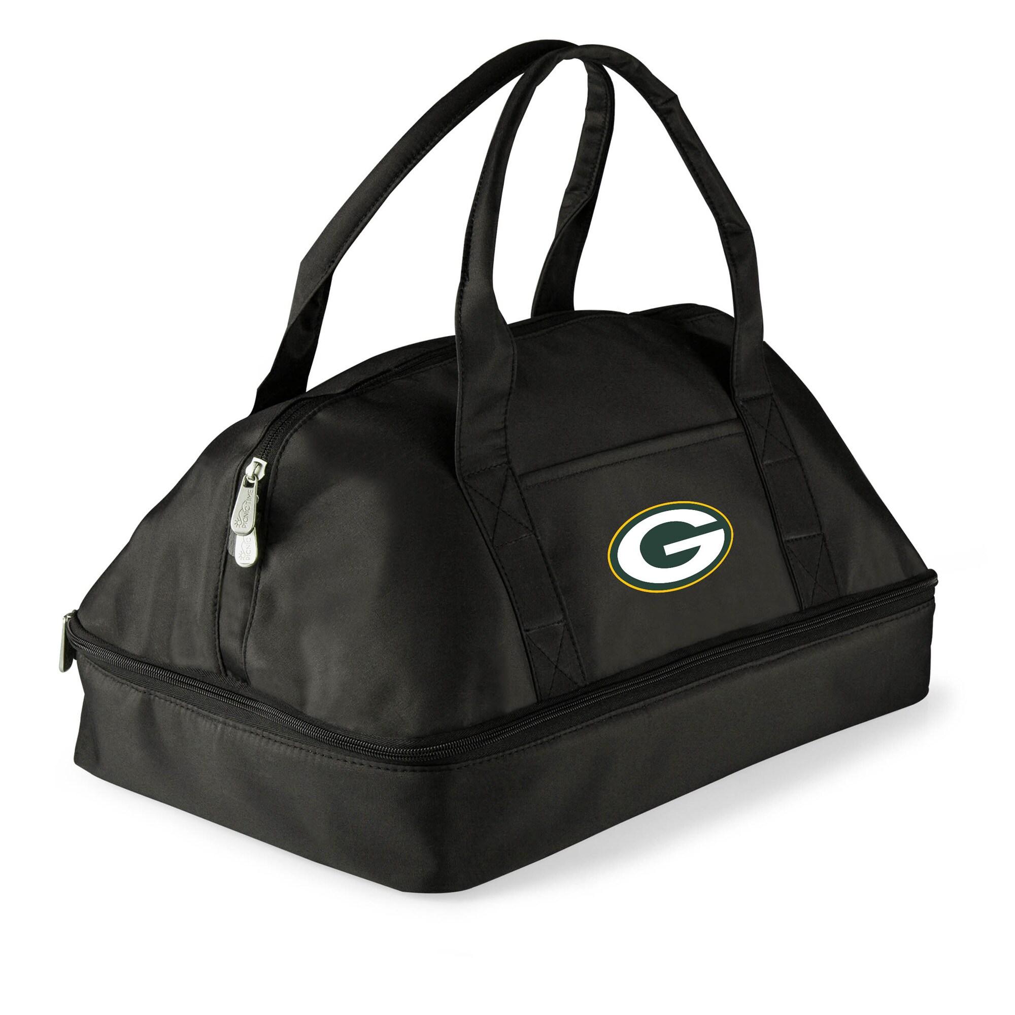 Green Bay Packers Potluck Casserole Tote - Black