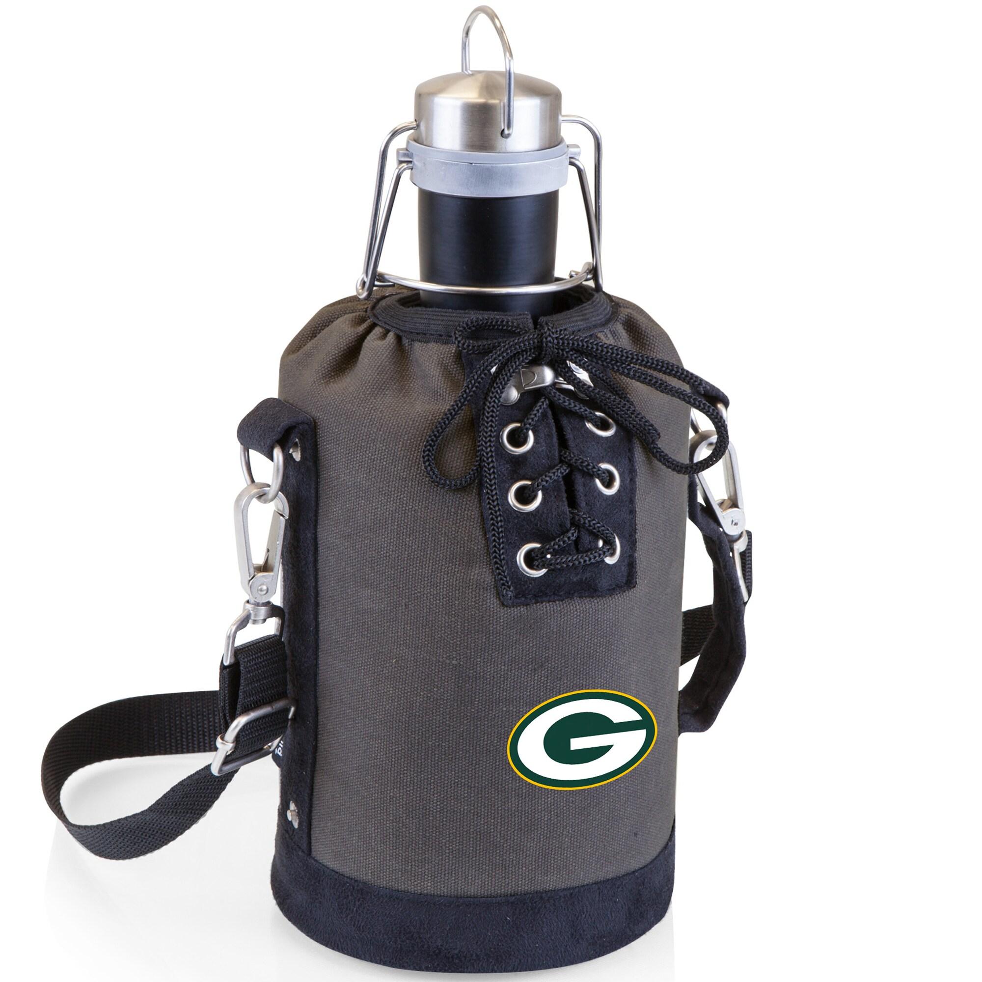 Green Bay Packers Growler Tote Set