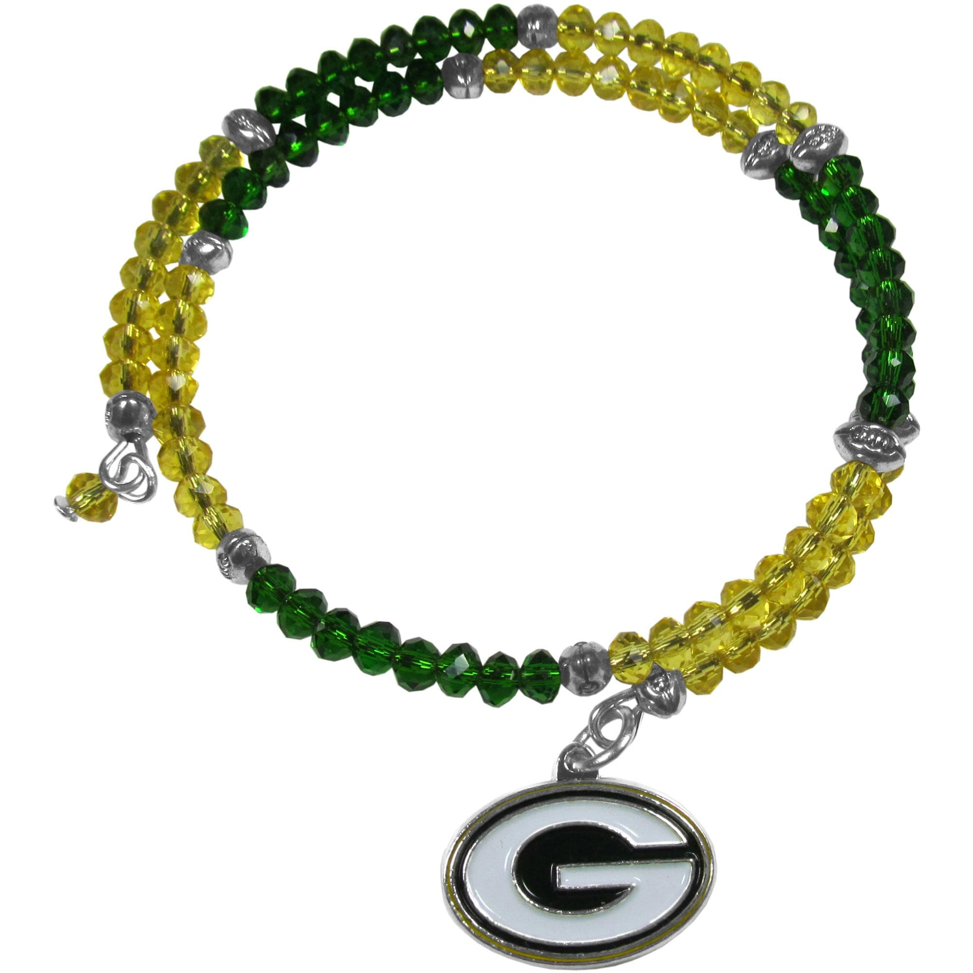 Green Bay Packers Women's 400 Degrees Crystal Bracelet