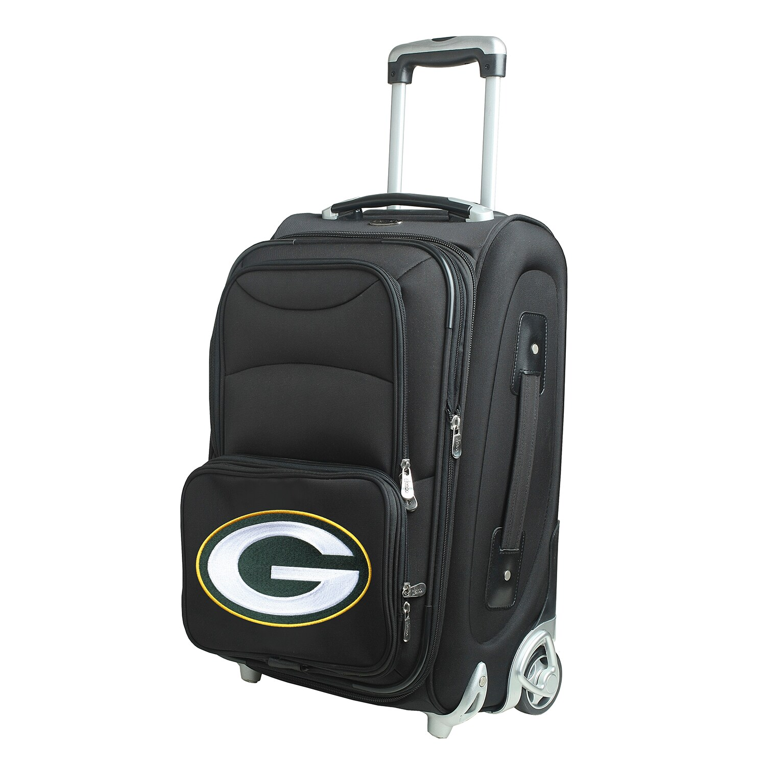 """Green Bay Packers 21"""" Rolling Carry-On Suitcase"""