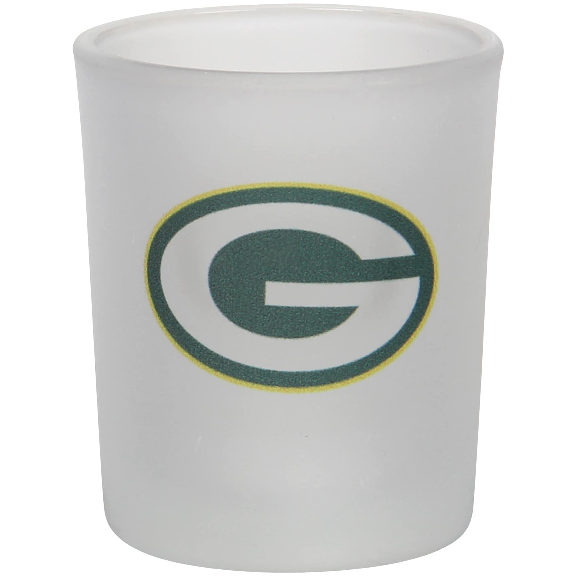 Green Bay Packers 4.5oz. Frosted Souvenir Glass