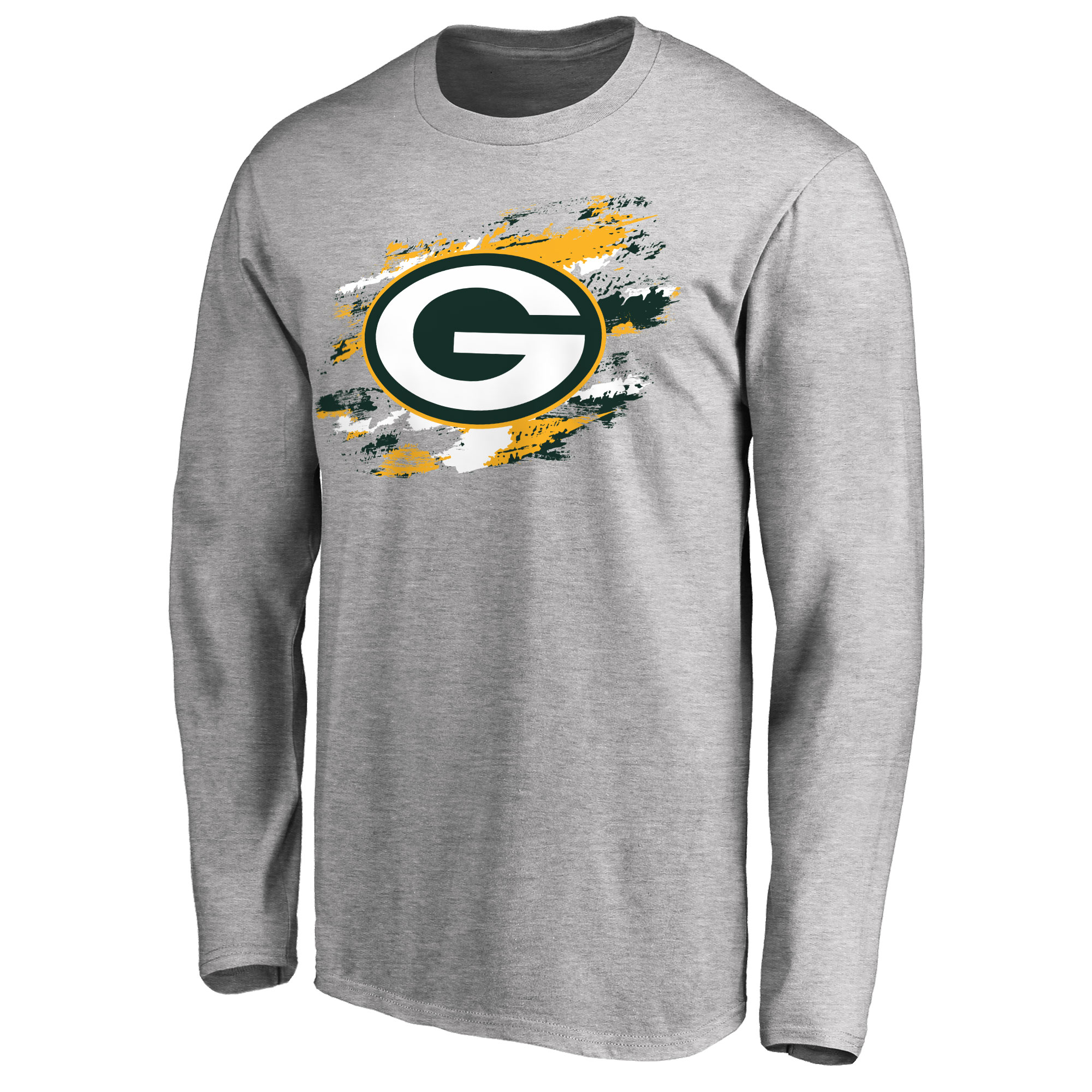 Green Bay Packers NFL Pro Line True Colors Long Sleeve T-Shirt - Ash
