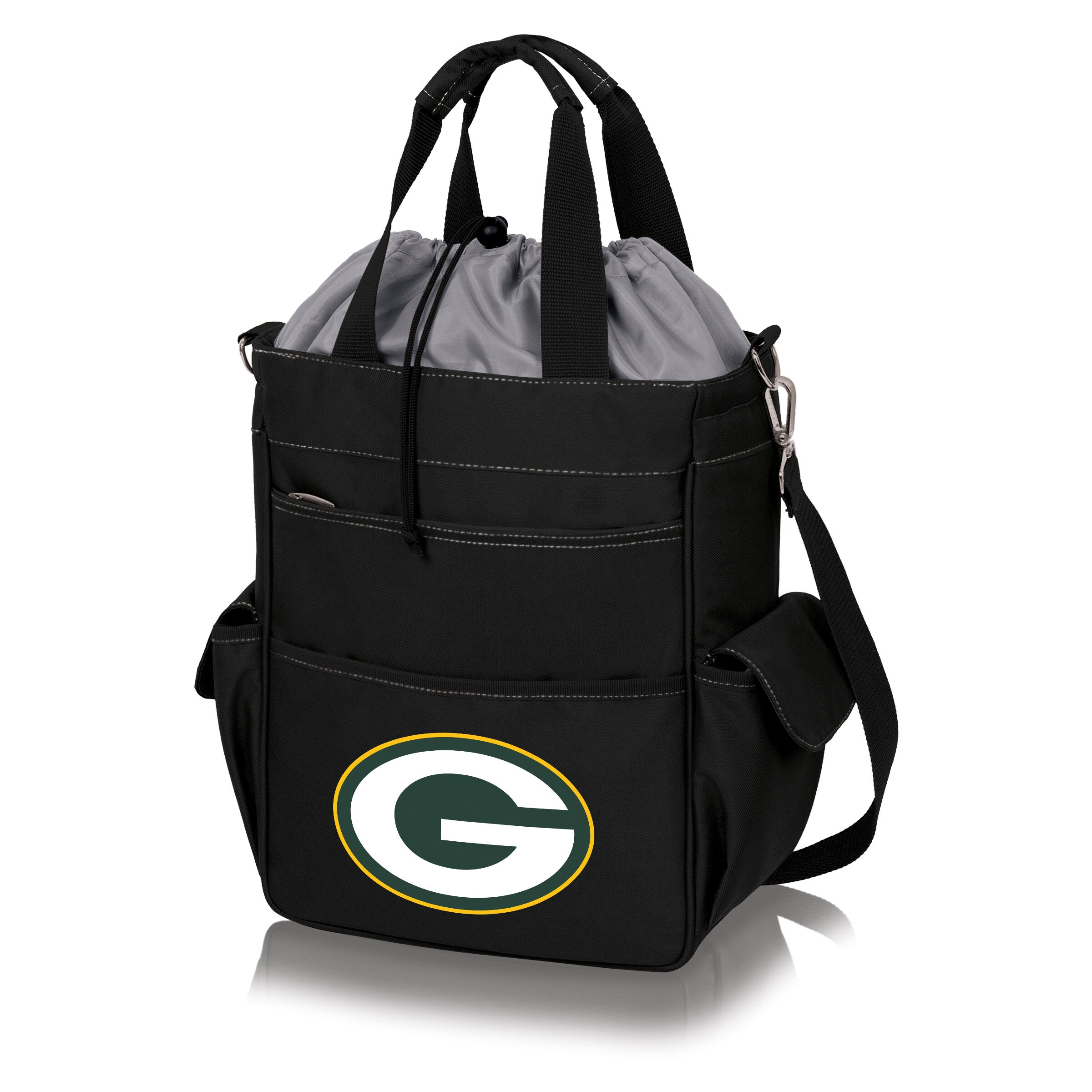 Green Bay Packers Activo Cooler Tote - Black