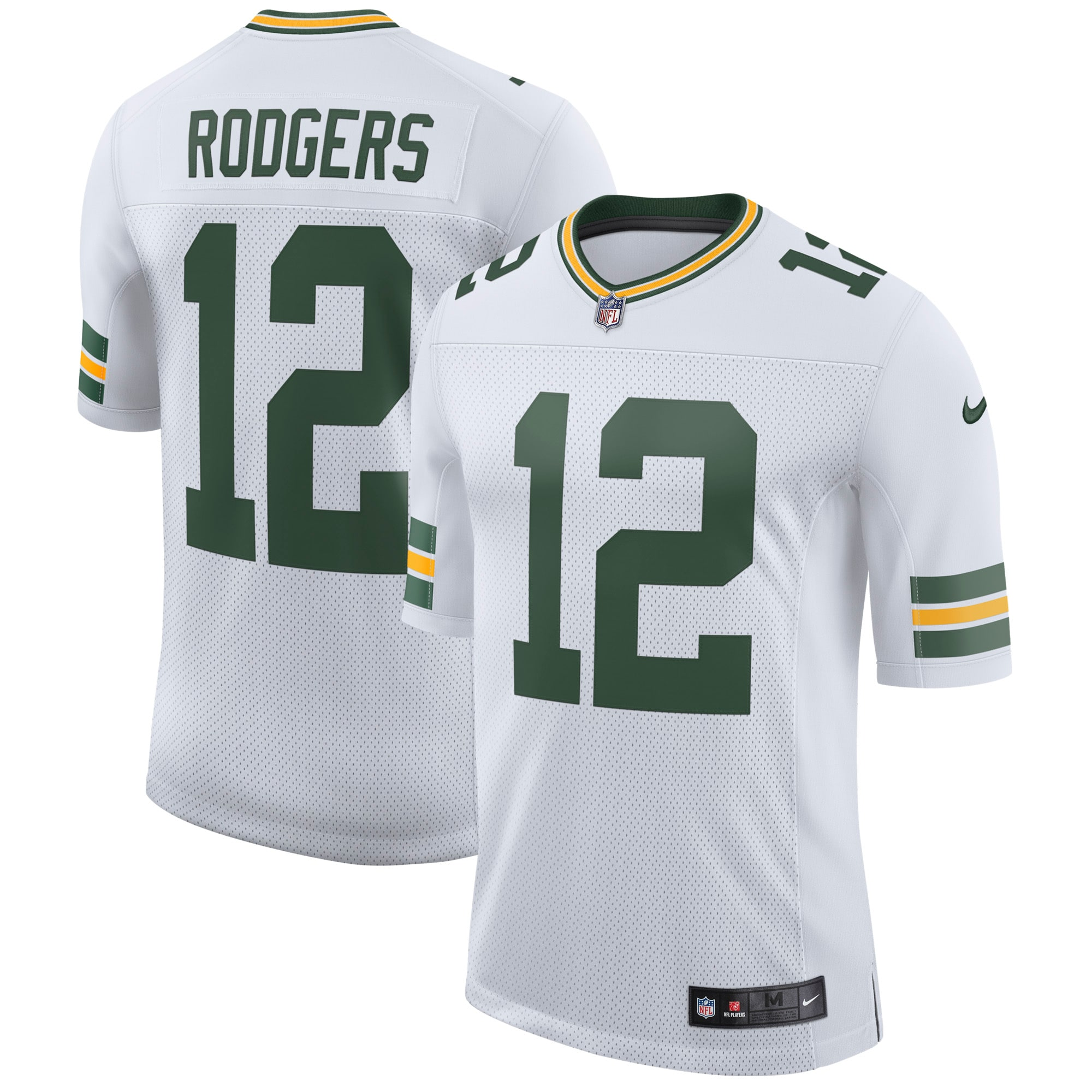 Aaron Rodgers Green Bay Packers Nike Classic Limited Player Jersey - White