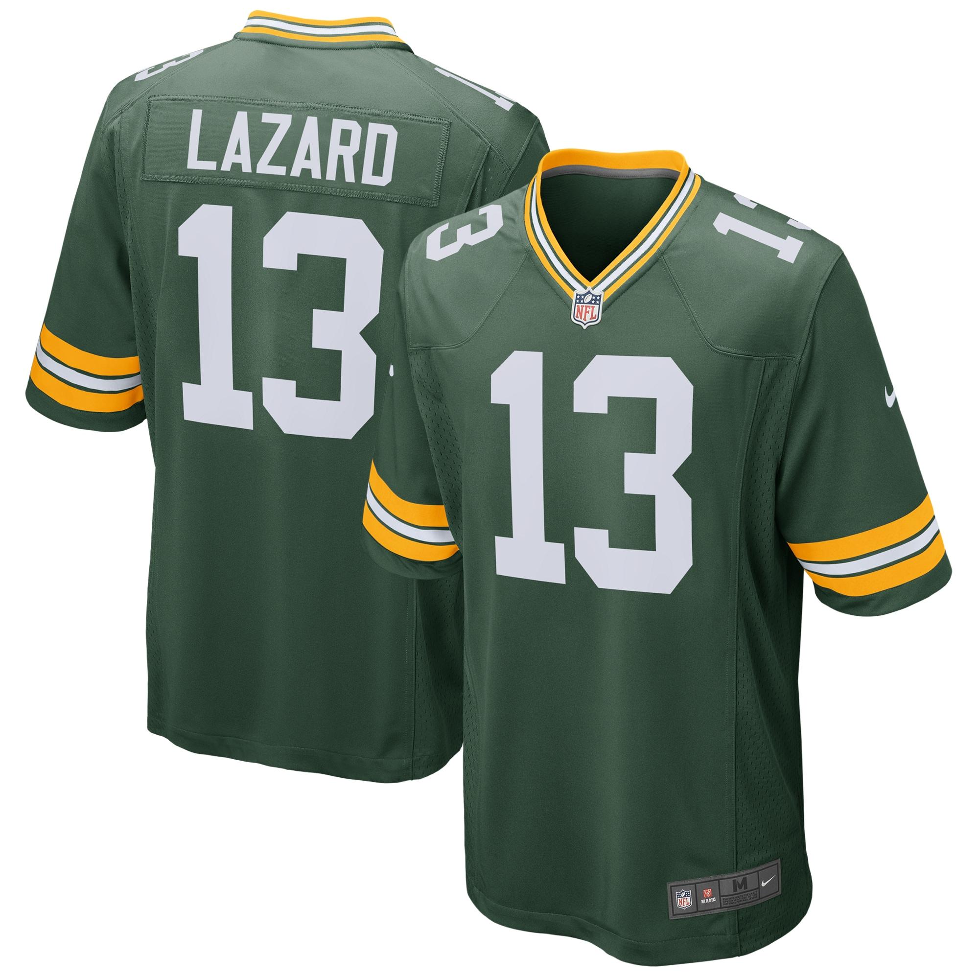 Allen Lazard Green Bay Packers Nike Game Jersey - Green