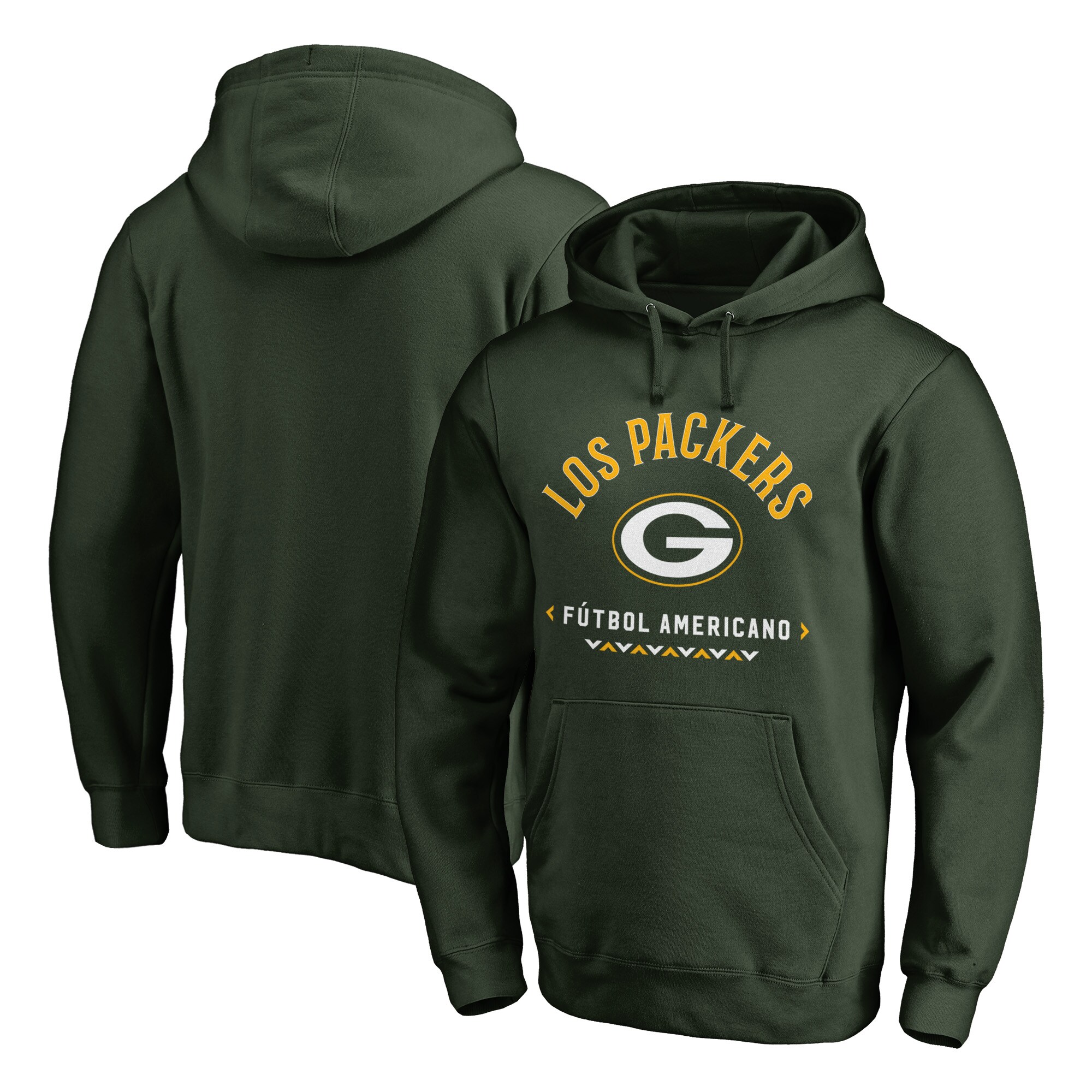 Green Bay Packers NFL Pro Line by Fanatics Branded Futbol Americano Pullover Hoodie - Green