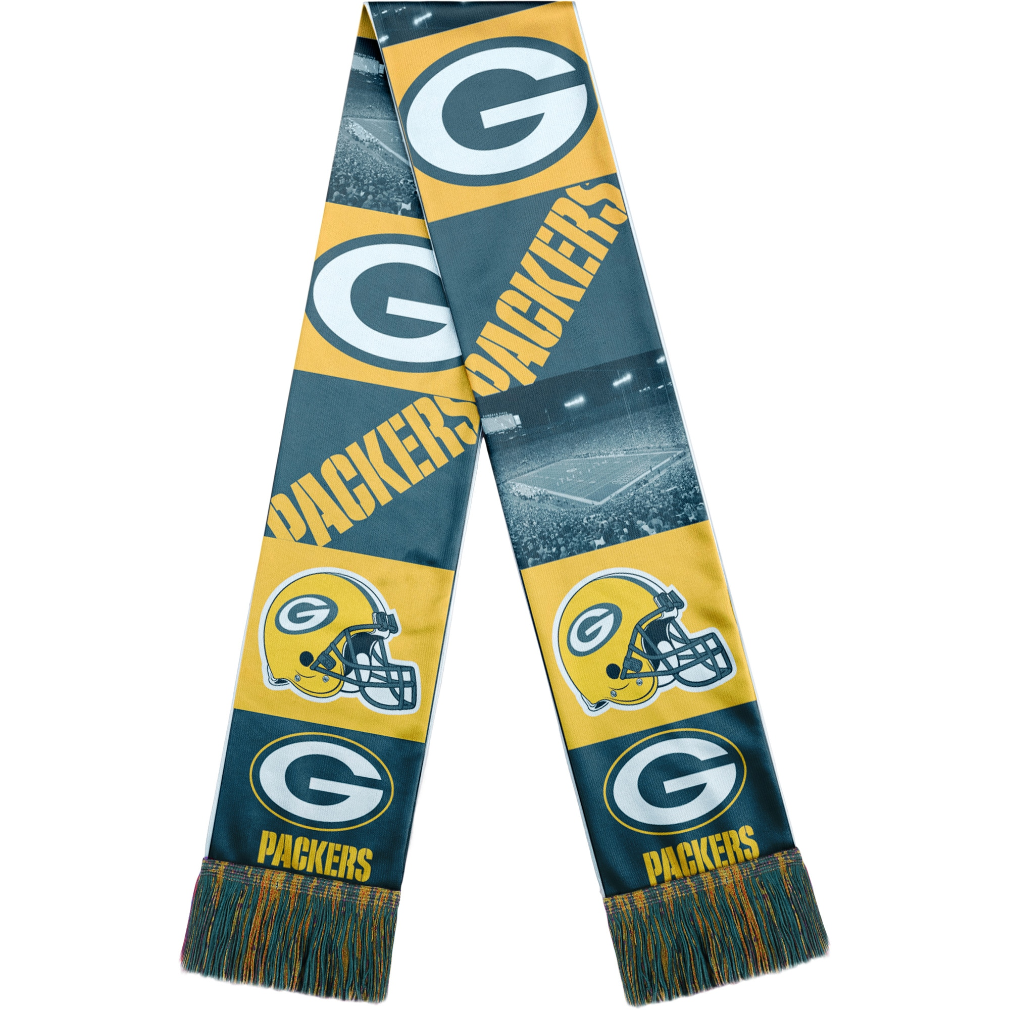 Green Bay Packers Bar Scarf - Green