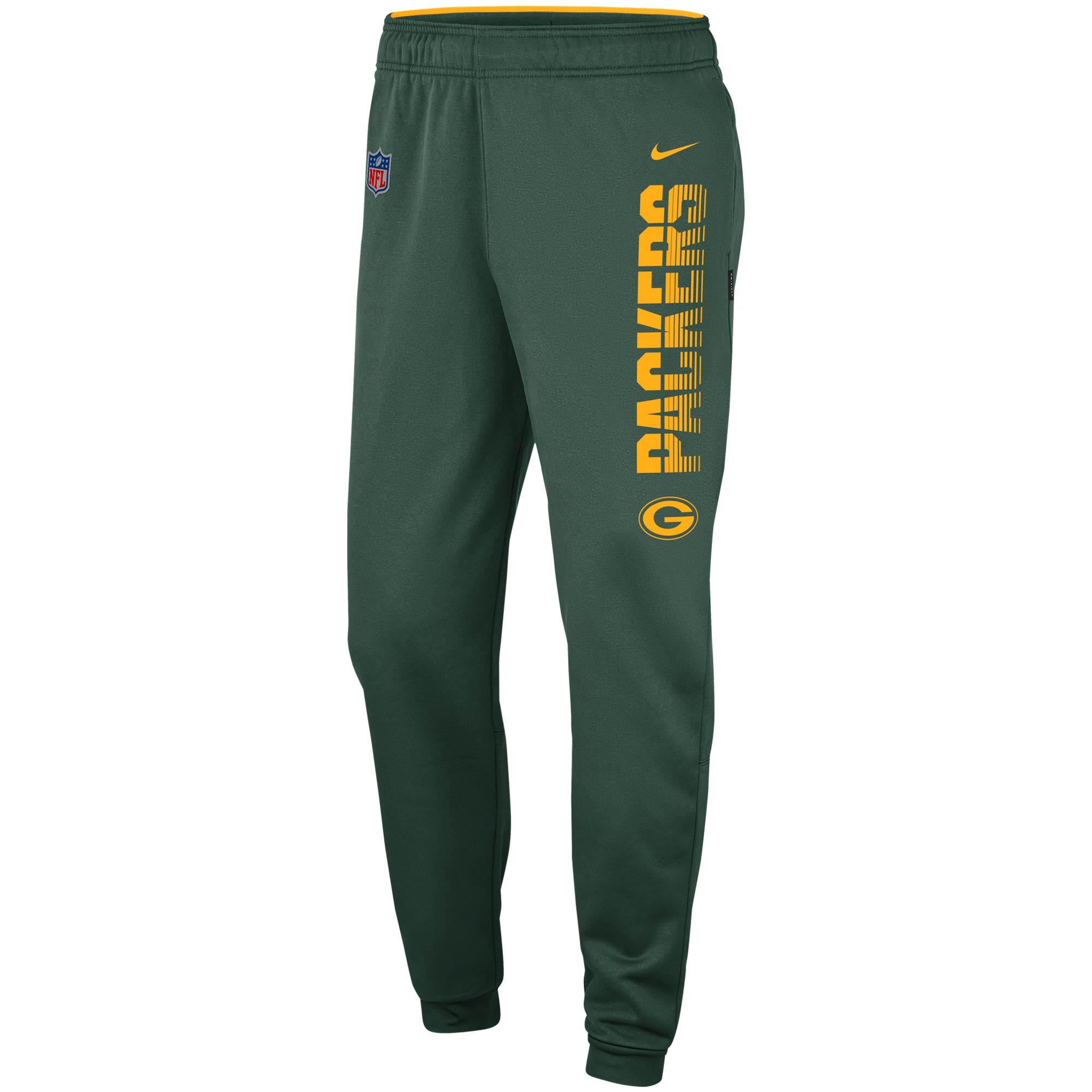 Green Bay Packers Nike Team Logo Sideline Performance Pants - Green