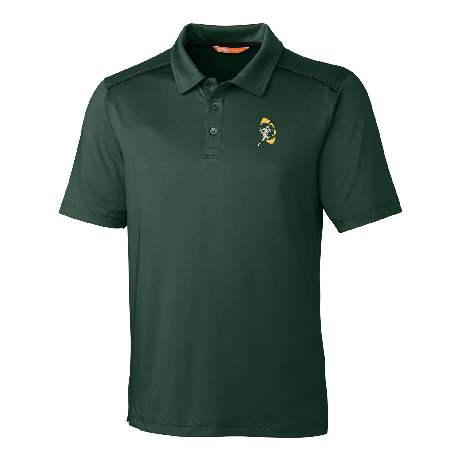 Green Bay Packers CBUK by Cutter & Buck Throwback Chance Polo - Green