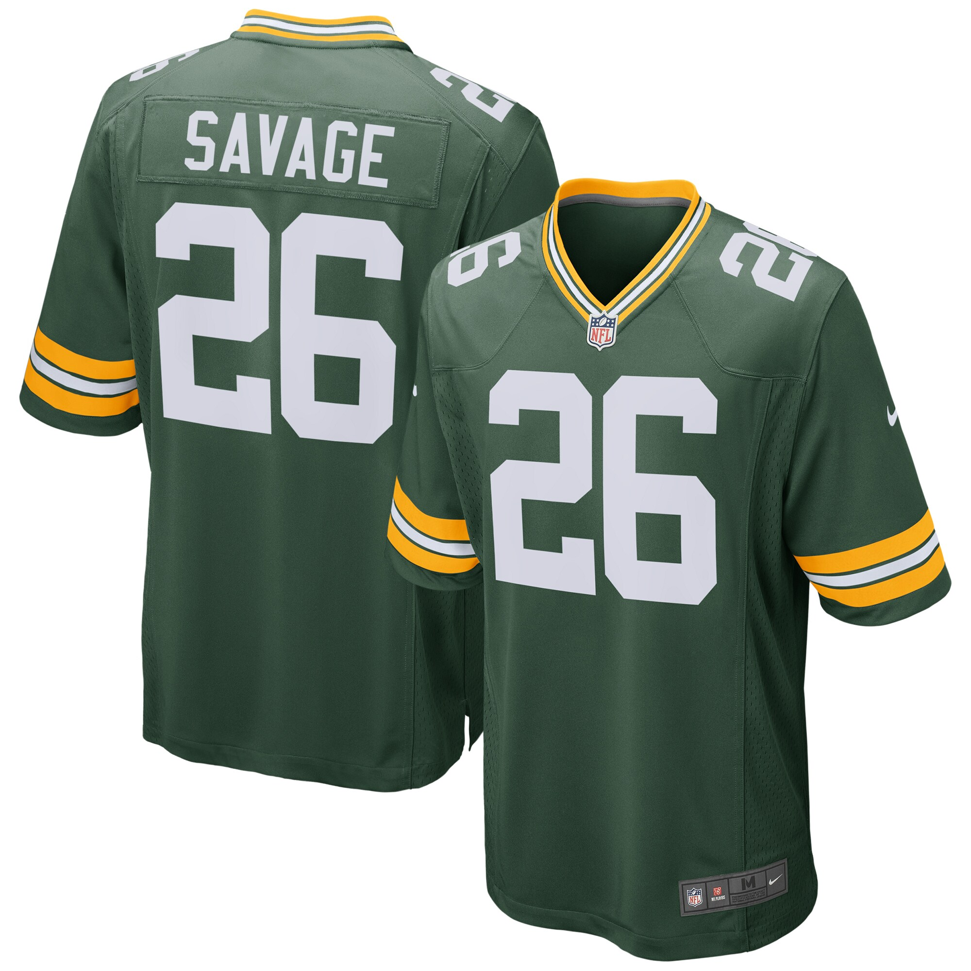 Darnell Savage Jr. Green Bay Packers Nike Game Jersey - Green