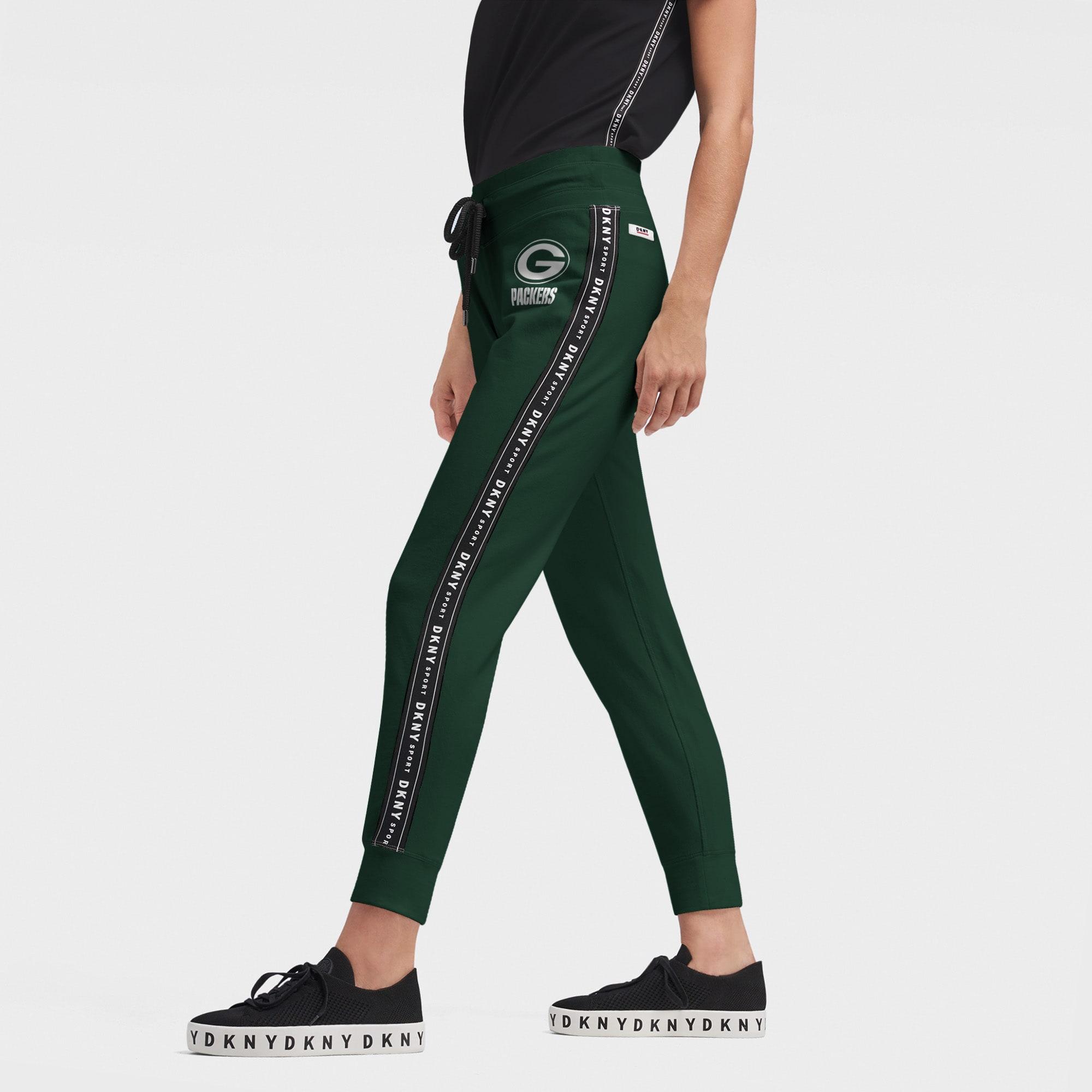 Green Bay Packers DKNY Sport Women's Brooke Jogger Pants - Green