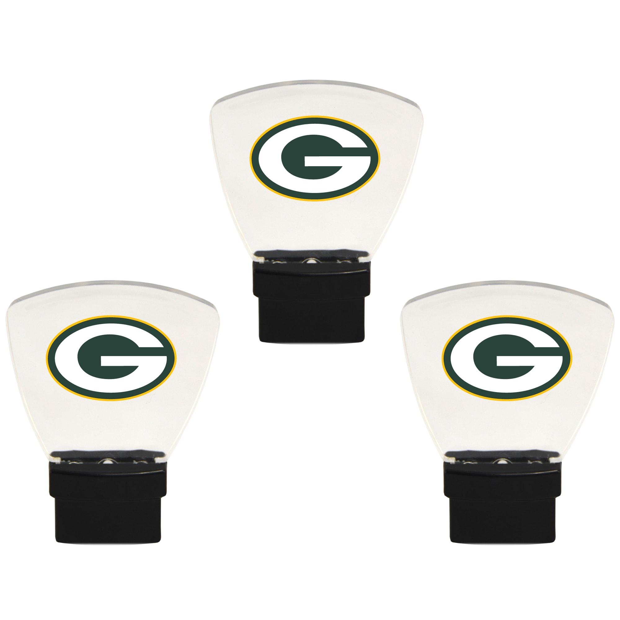 Green Bay Packers 3-Pack Nightlight Bundle - Green