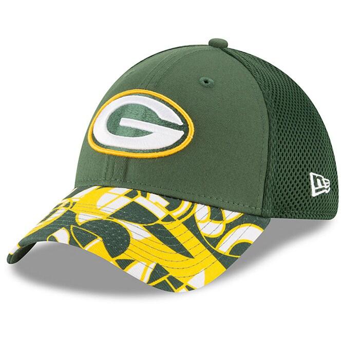 Green Bay Packers New Era NFLxFIT 39THIRTY Flex Hat - Green