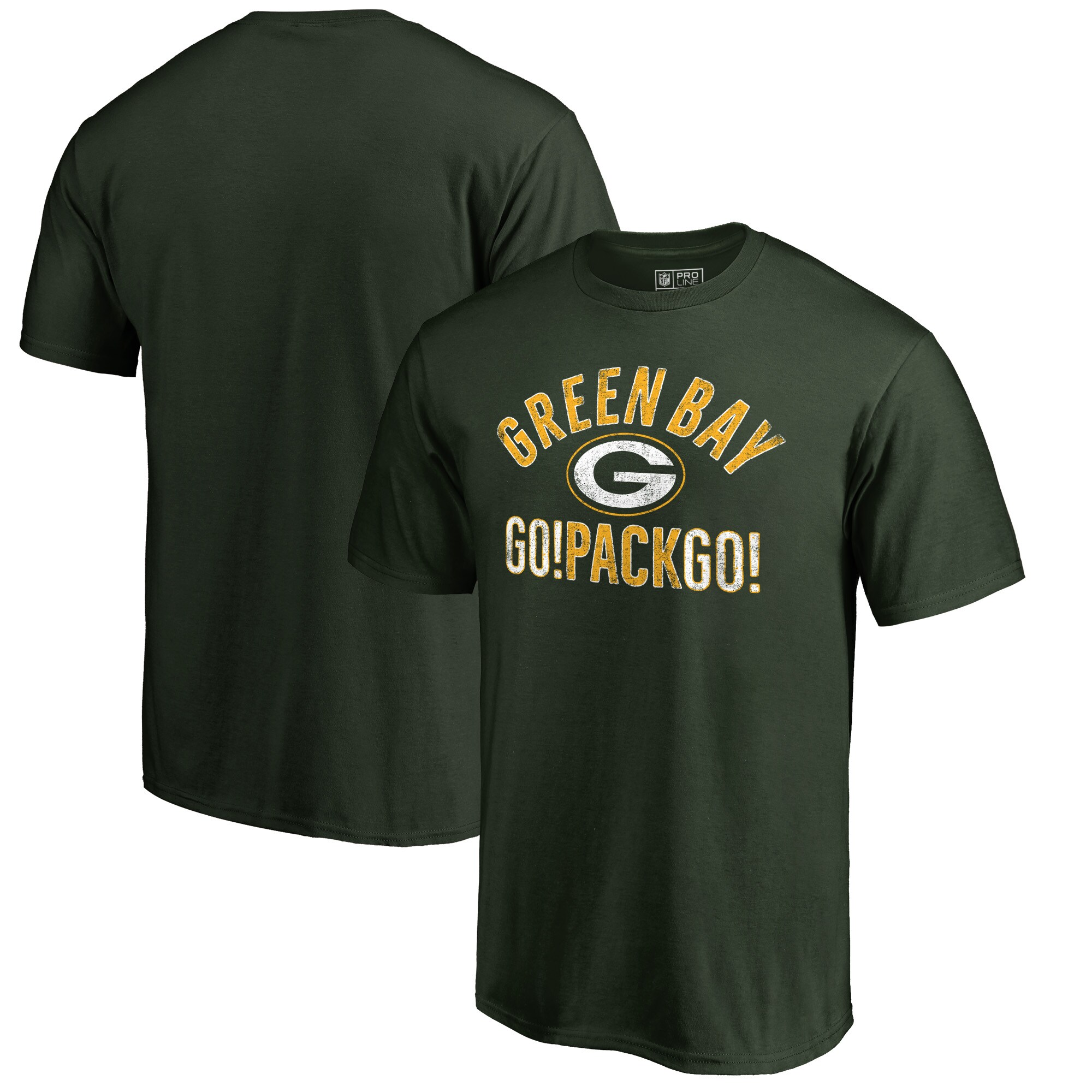 Green Bay Packers NFL Pro Line by Fanatics Branded Hometown Collection T-Shirt - Green
