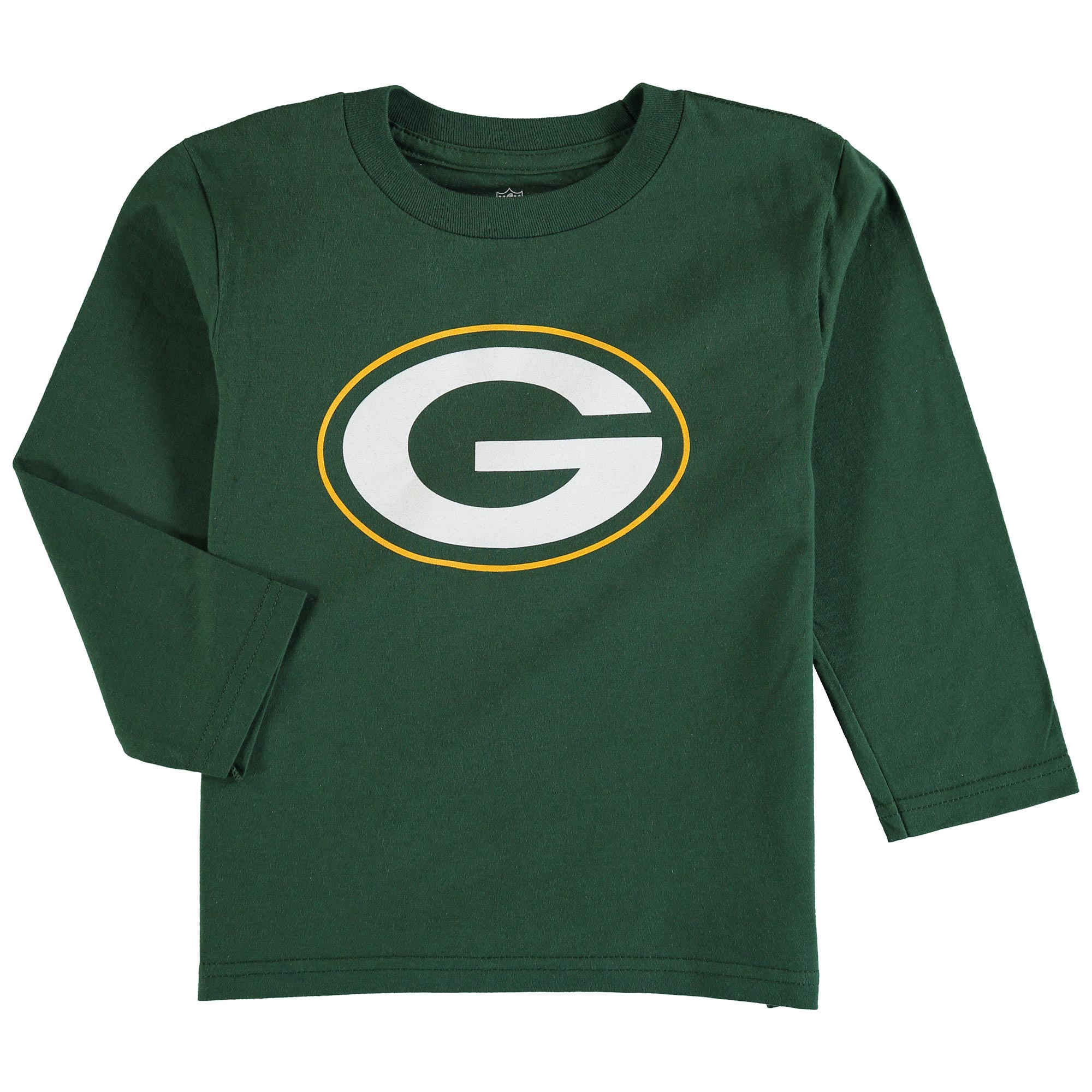 Green Bay Packers Preschool Team Logo Long Sleeve T-Shirt - Green