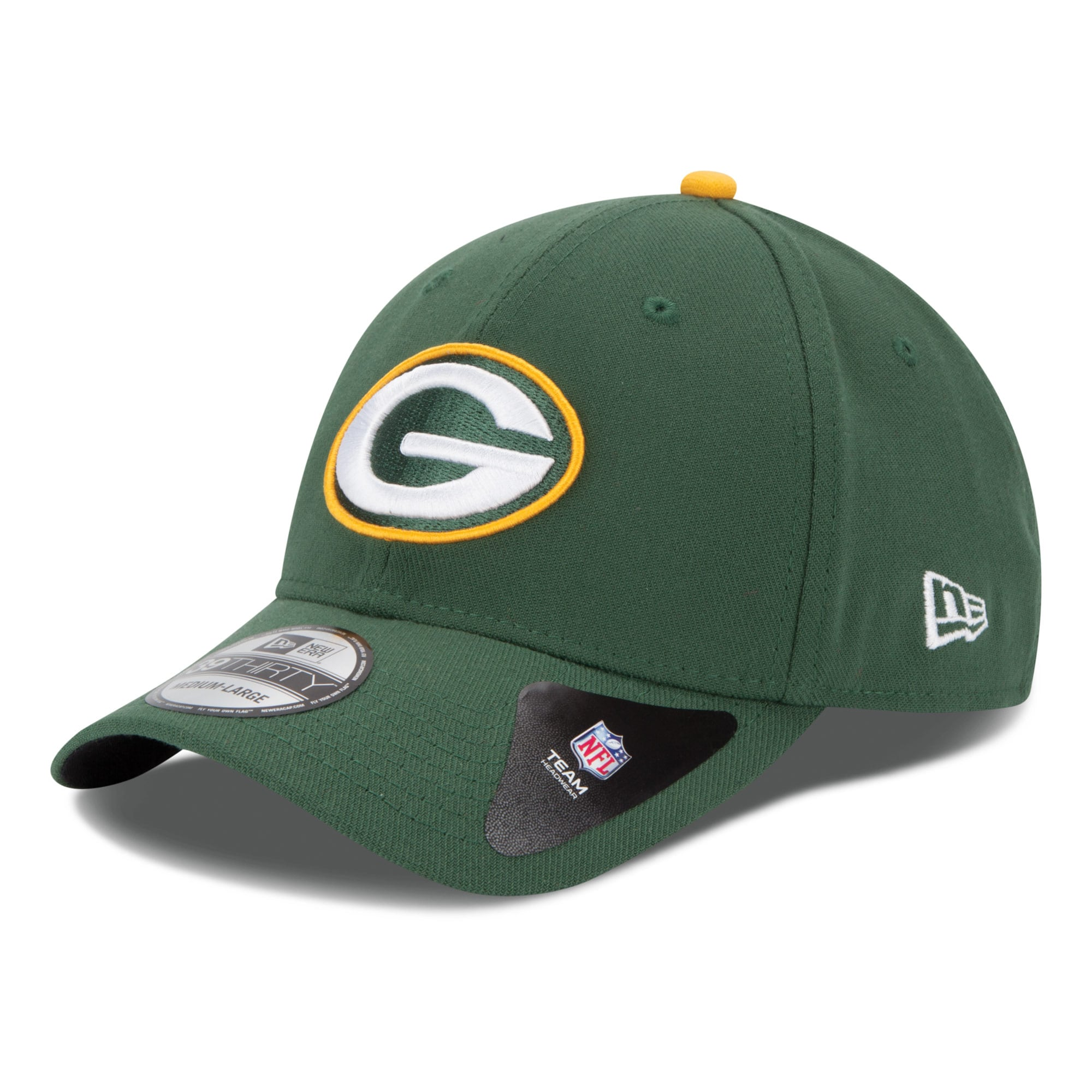 Green Bay Packers New Era 39THIRTY Team Classic Flex Hat - Green