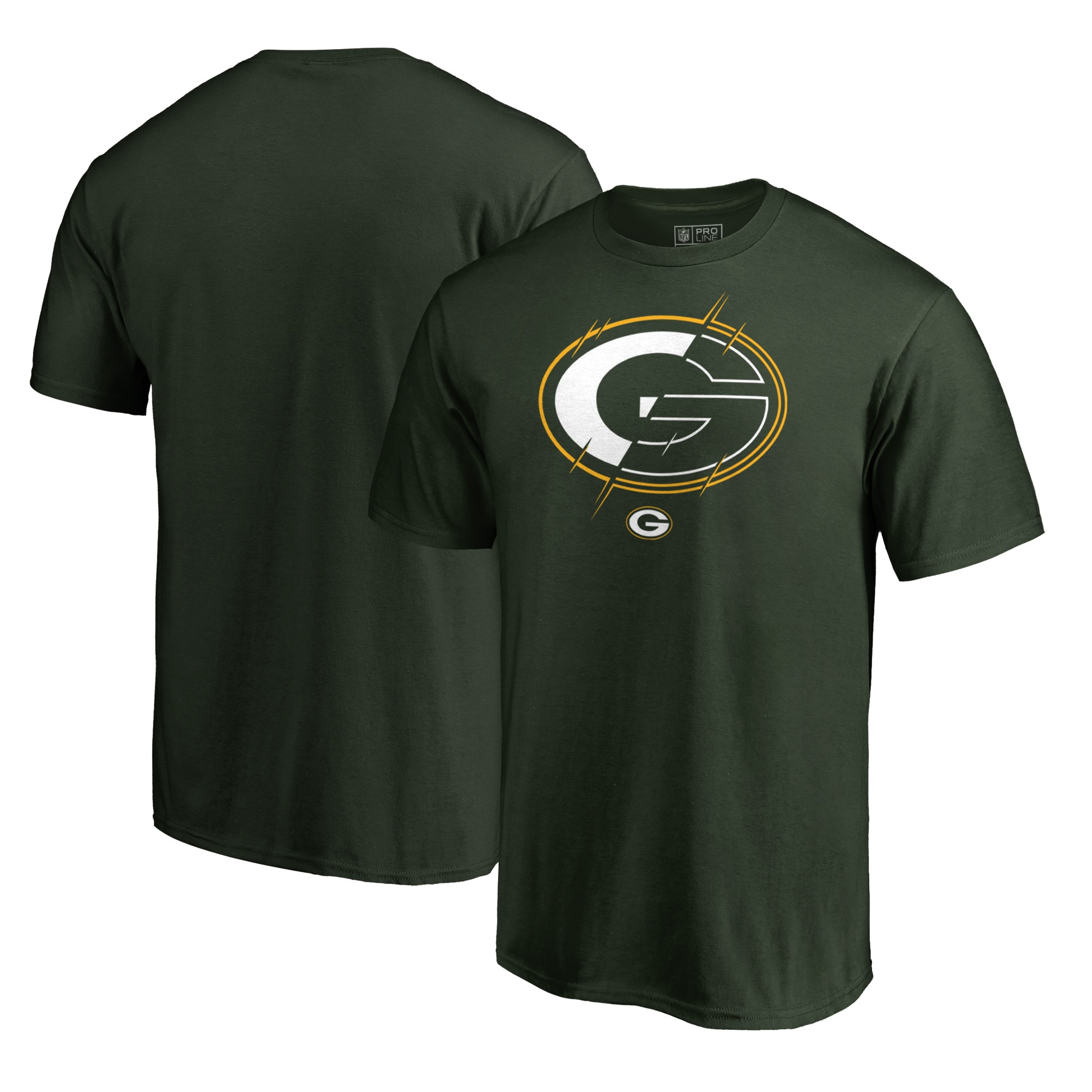 Green Bay Packers NFL Pro Line by Fanatics Branded X-Ray T-Shirt - Green