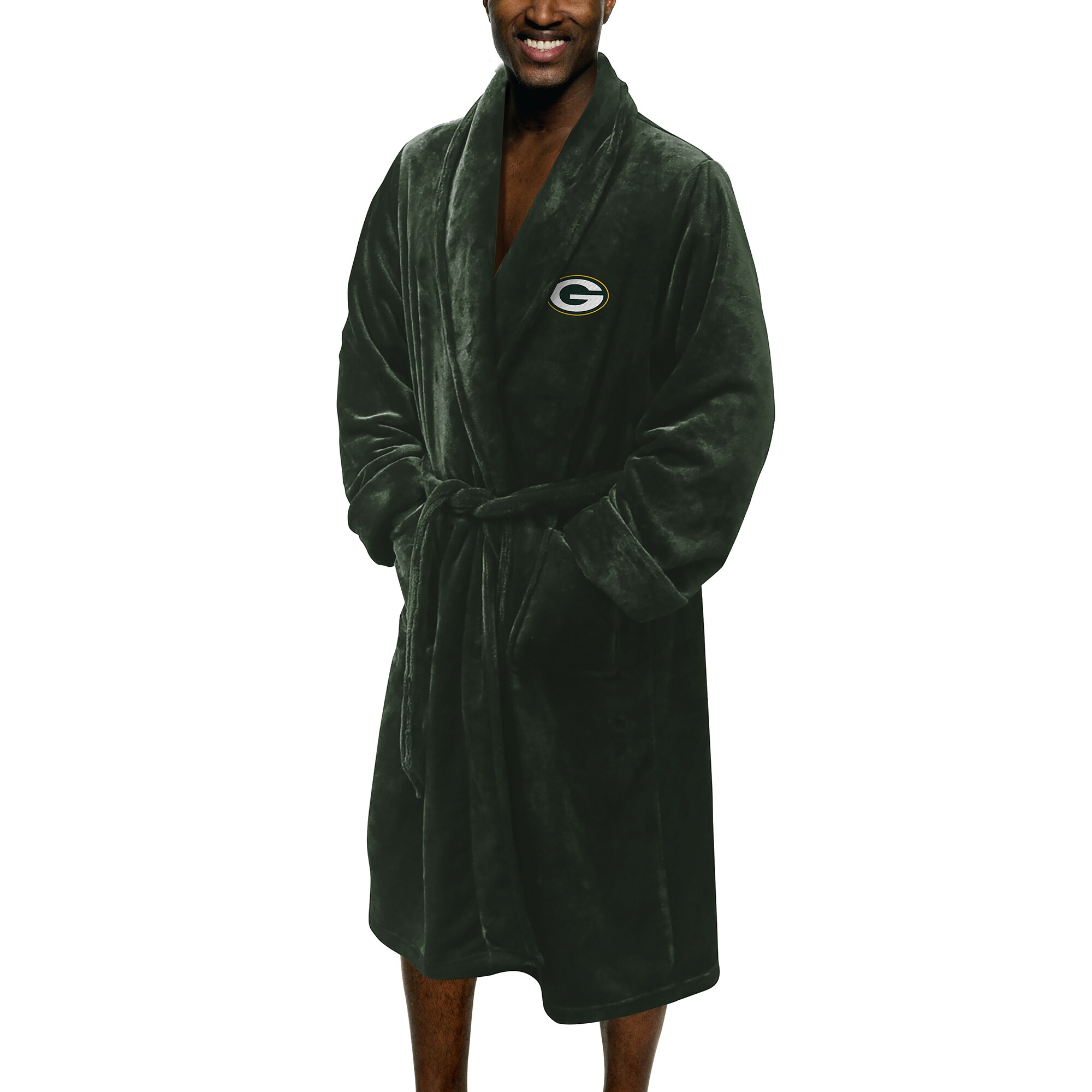 Green Bay Packers The Northwest Company Silk Touch Robe - Green