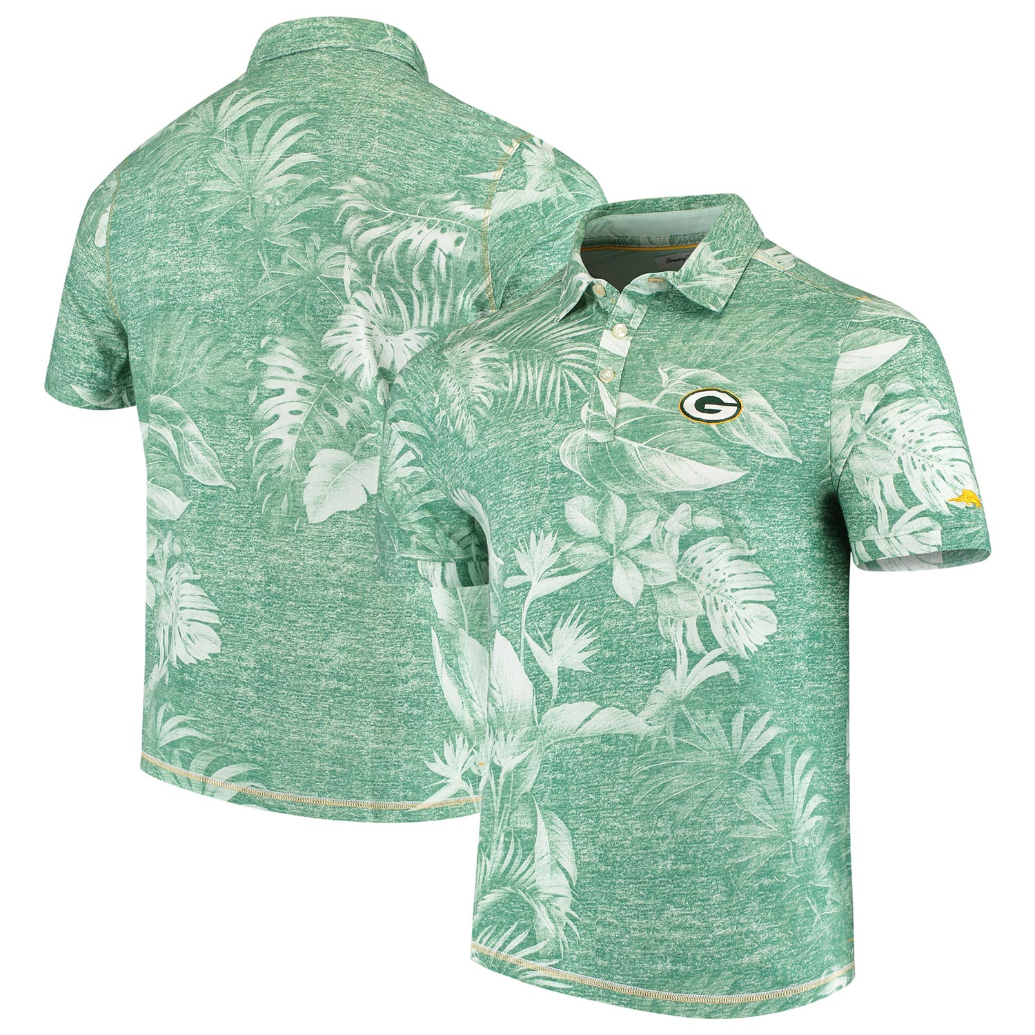 Green Bay Packers Tommy Bahama Parque Polo - Green