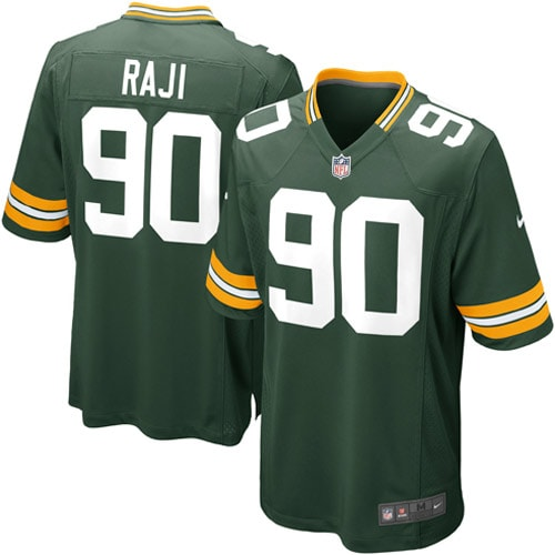 BJ Raji Green Bay Packers Nike Youth Team Color Game Jersey - Green