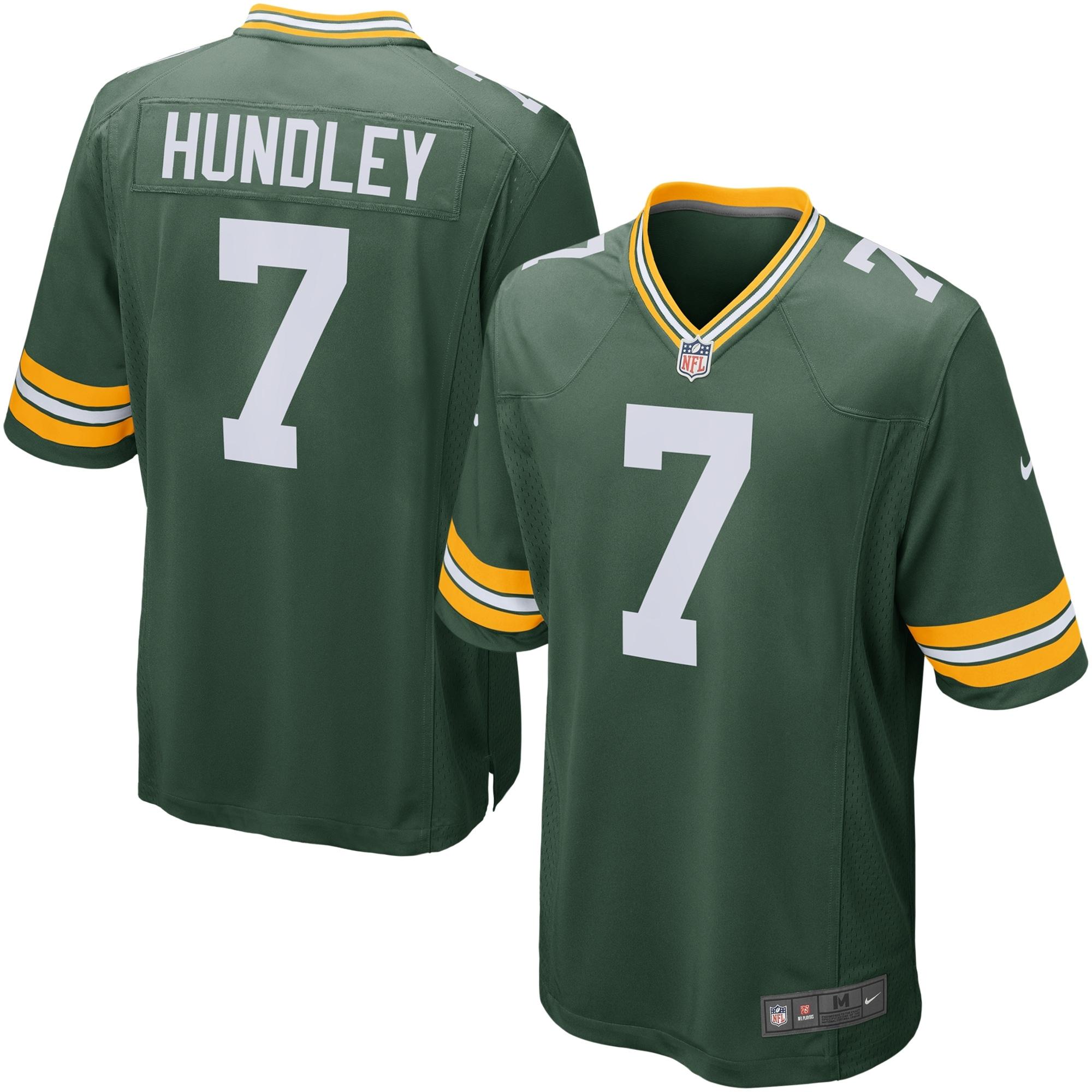 Brett Hundley Green Bay Packers Nike Game Jersey - Green