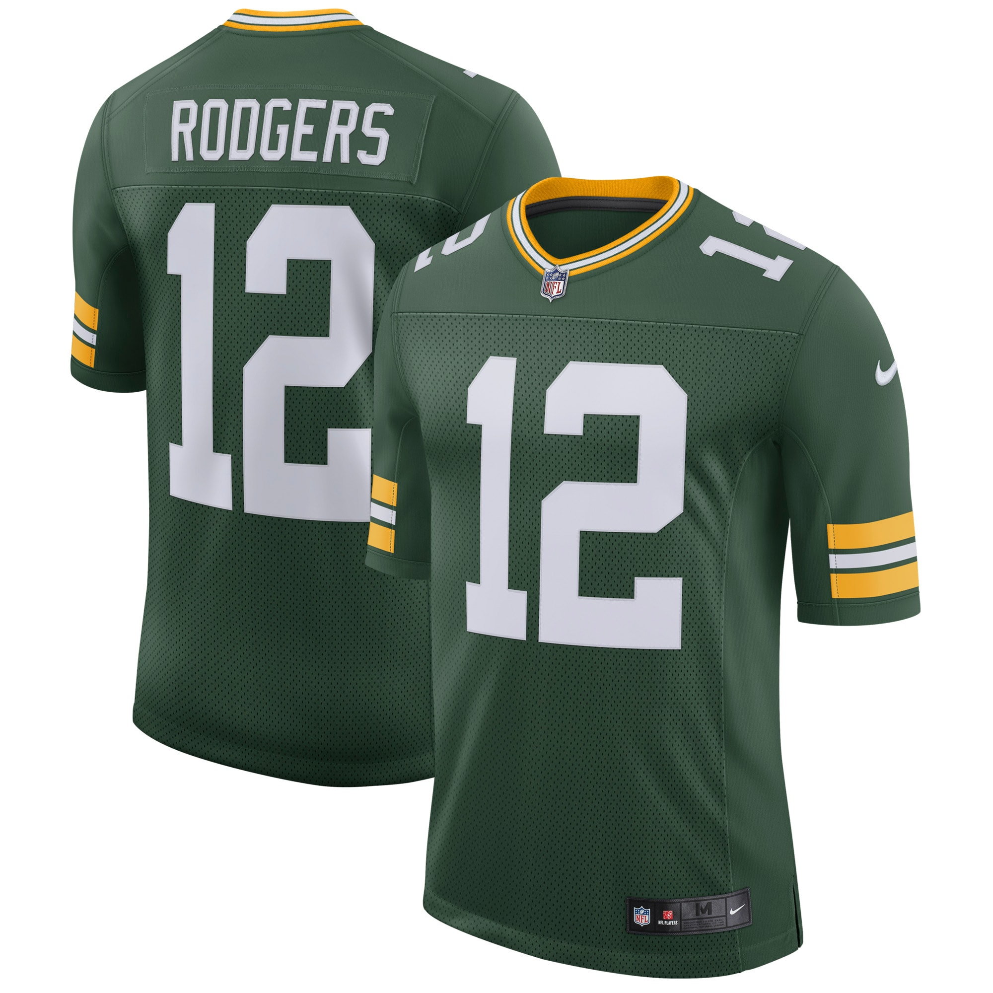 Aaron Rodgers Green Bay Packers Nike Classic Limited Player Jersey - Green