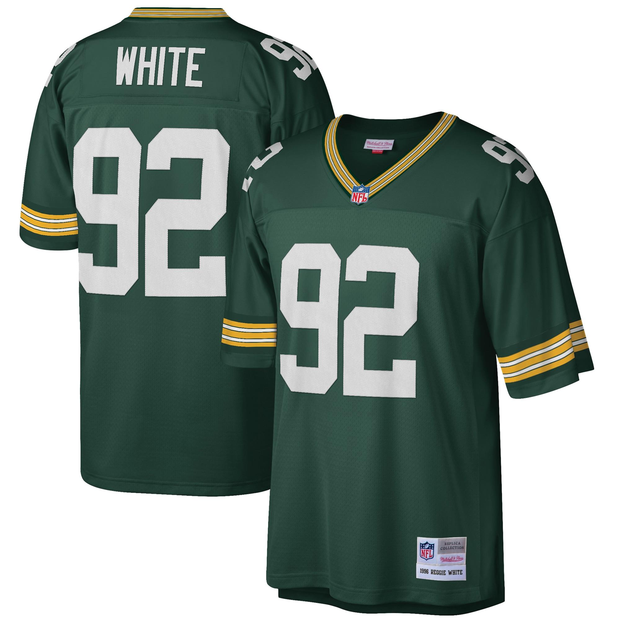Reggie White Green Bay Packers Mitchell & Ness Big & Tall 1996 Retired Player Replica Jersey - Green