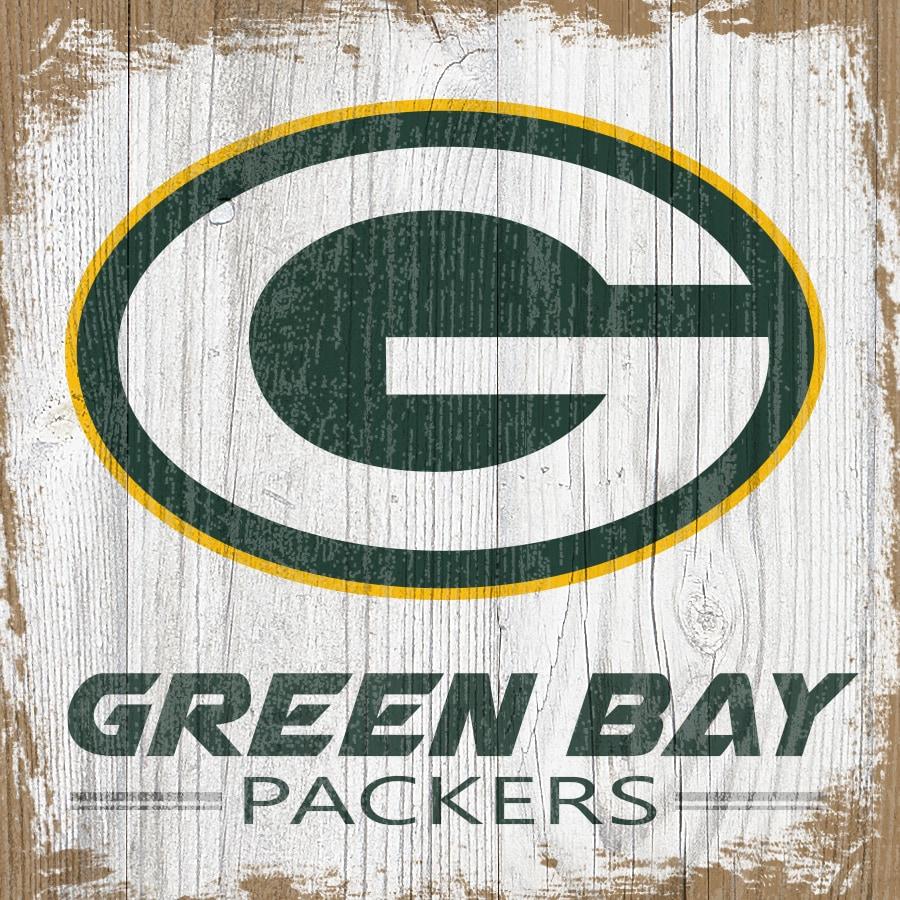 Green Bay Packers 6'' x 6'' Team Logo Block