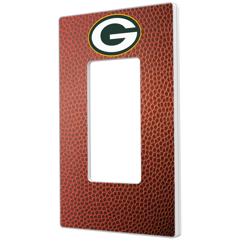 Green Bay Packers Football Design Single Rocker Light Switch Plate