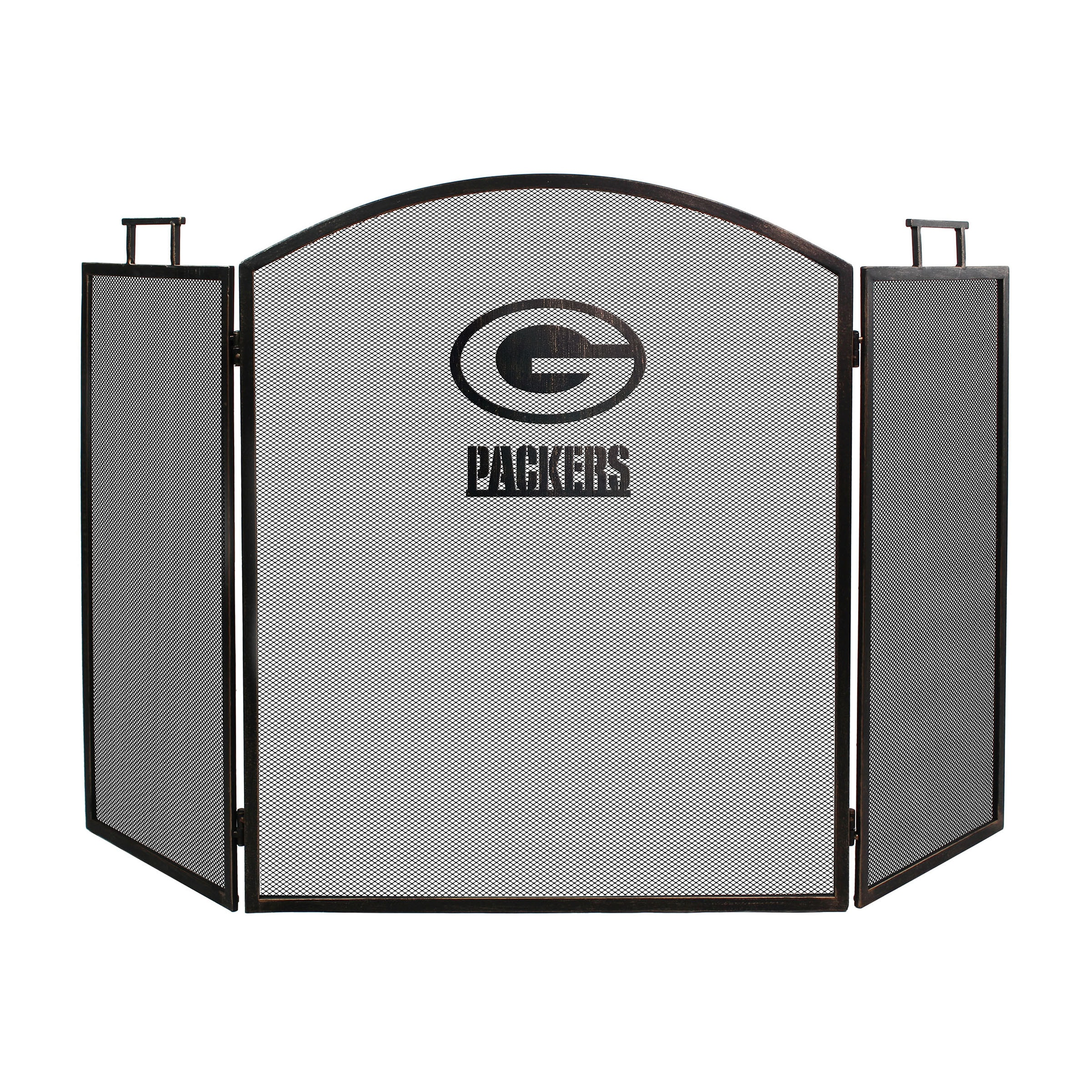 Green Bay Packers Imperial Fireplace Screen - Brown