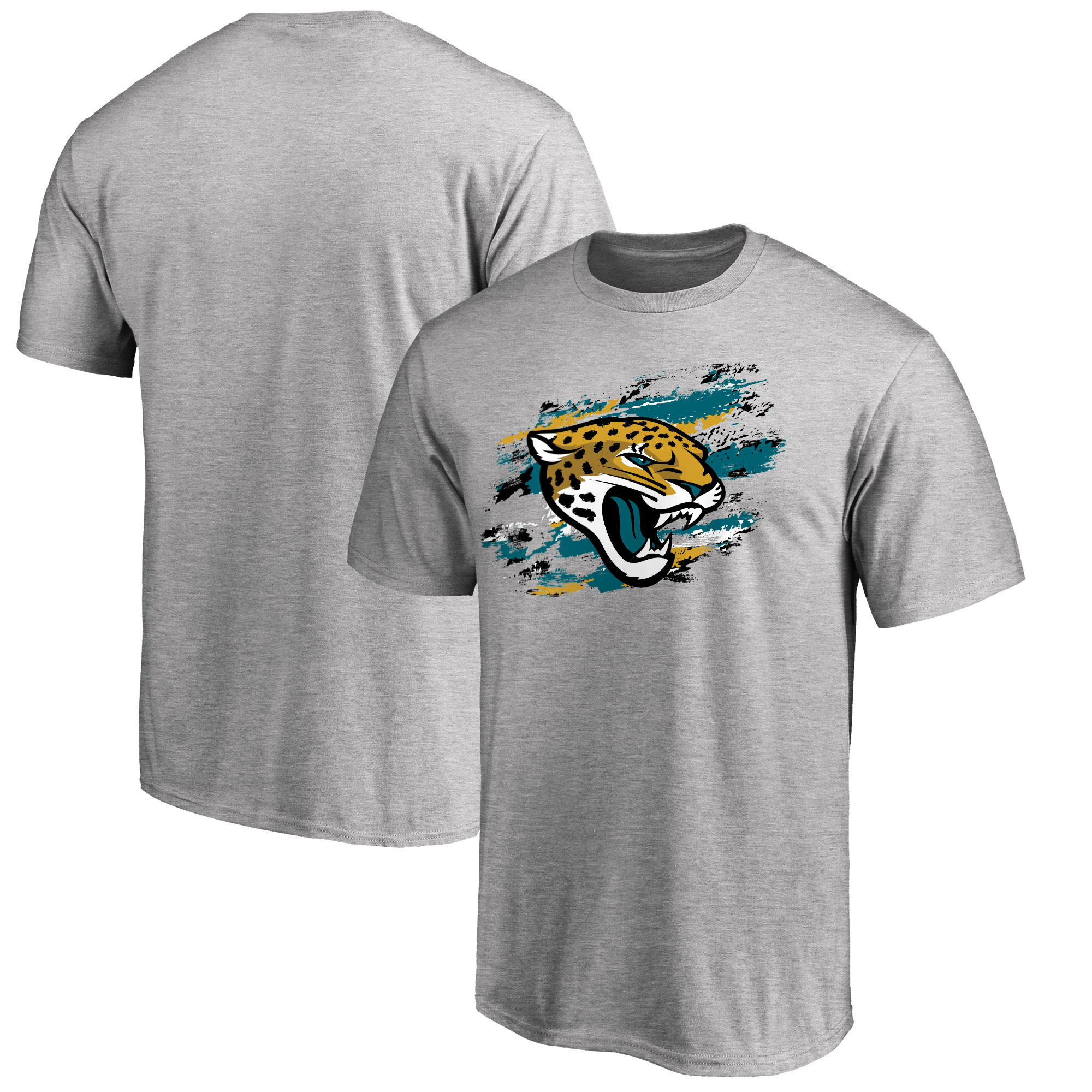 Jacksonville Jaguars NFL Pro Line True Color T-Shirt - Heathered Gray