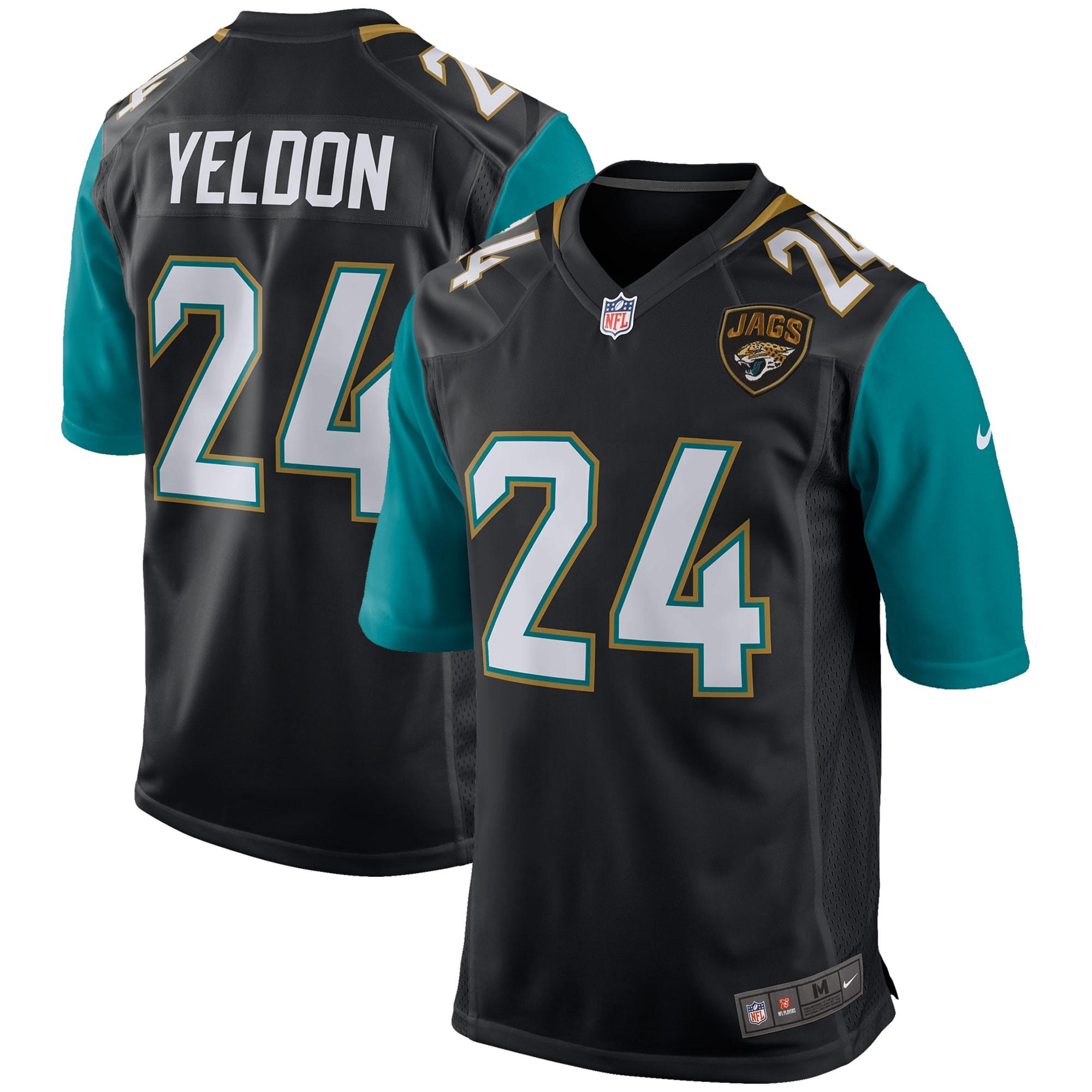 T.J. Yeldon Jacksonville Jaguars Nike Youth Game Jersey - Black