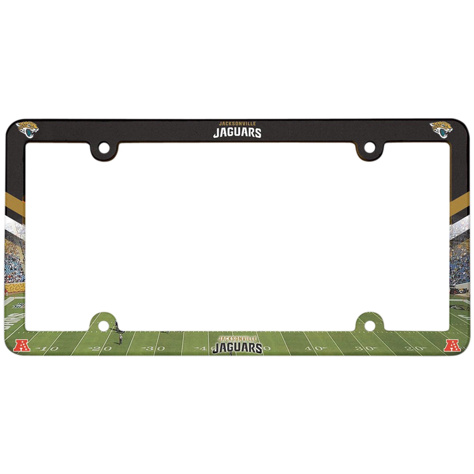 Jacksonville Jaguars WinCraft Full Color Plastic License Plate Frame