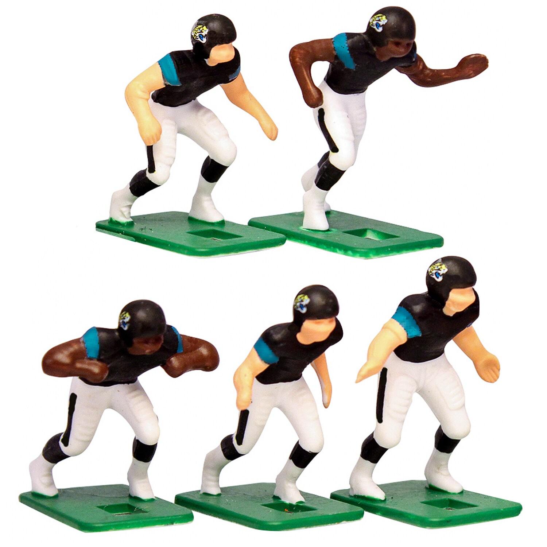 Jacksonville Jaguars Dark Uniform Action Figures Set