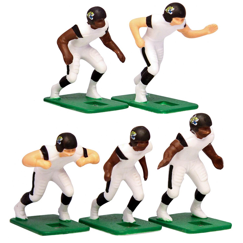 Jacksonville Jaguars White Uniform Action Figures Set