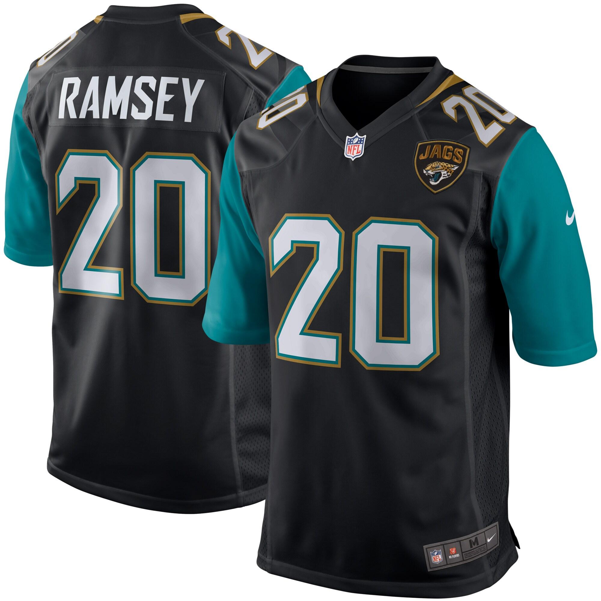Jalen Ramsey Jacksonville Jaguars Nike Youth Game Jersey - Black