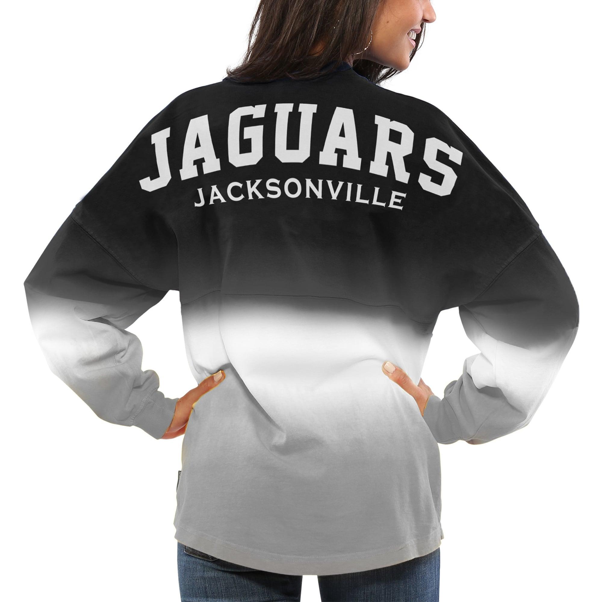 Jacksonville Jaguars NFL Pro Line by Fanatics Branded Women's Spirit Jersey Long Sleeve T-Shirt - Black/Gray