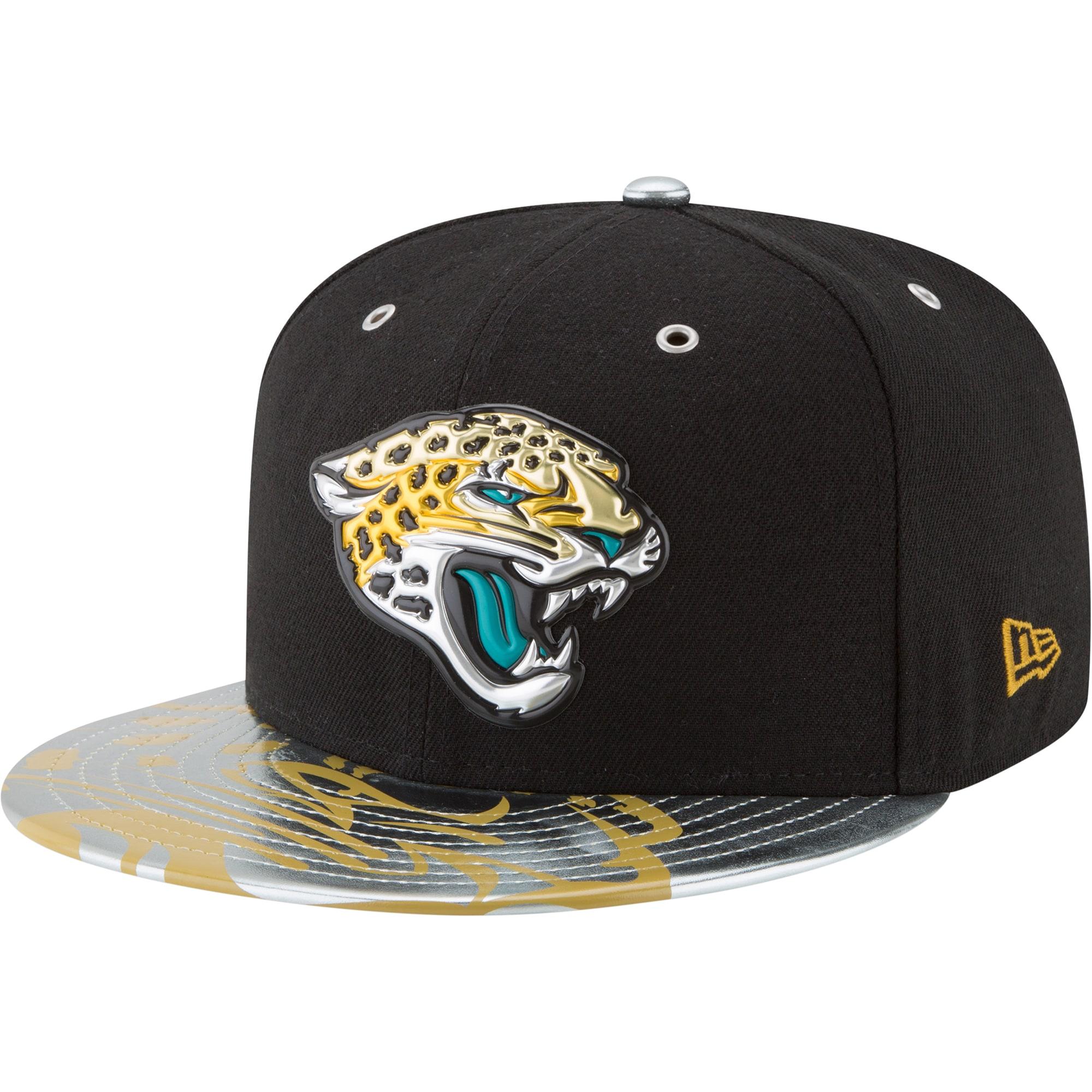 Jacksonville Jaguars New Era NFL Spotlight 59FIFTY Fitted Hat - Black