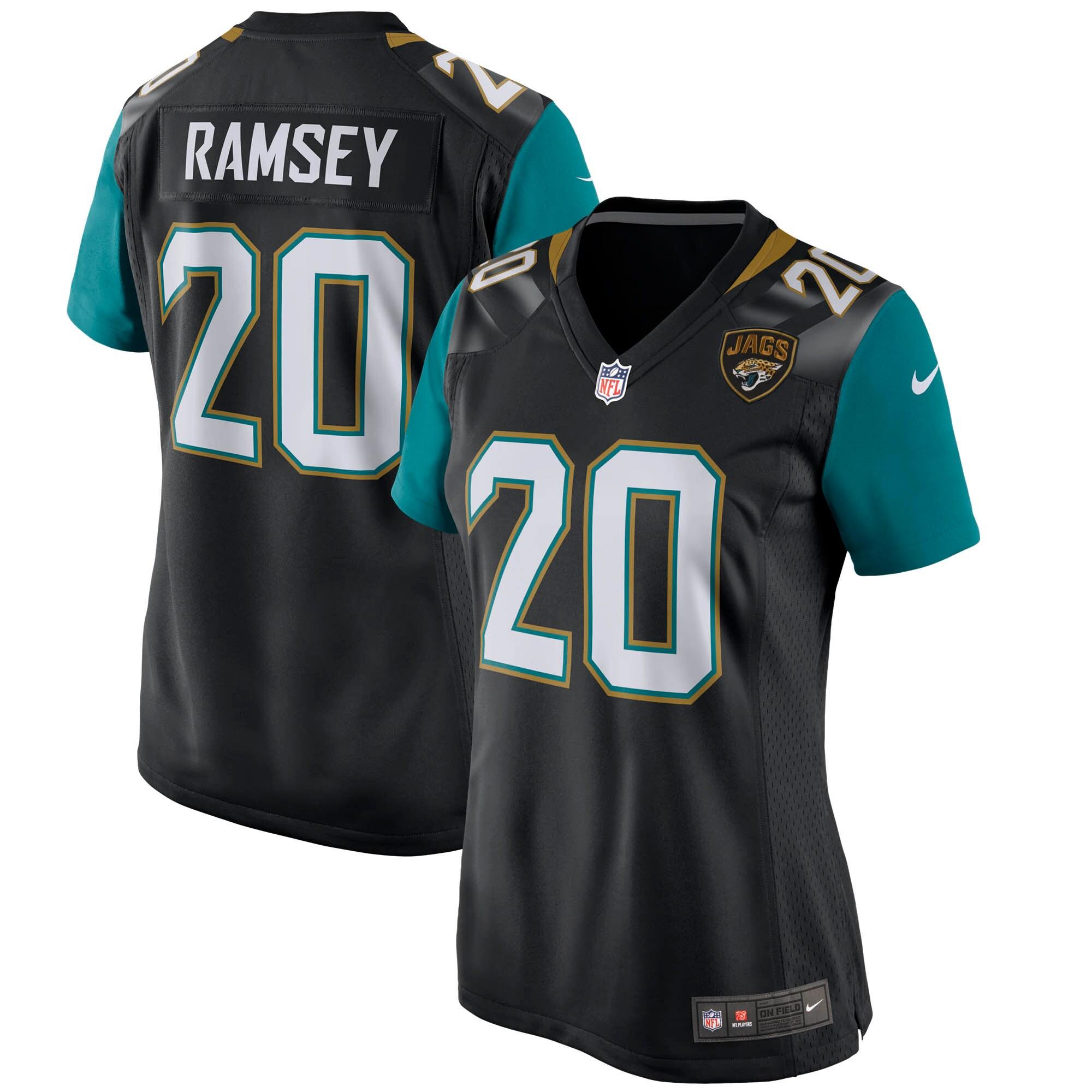 Jalen Ramsey Jacksonville Jaguars Nike Women's Game Jersey - Black