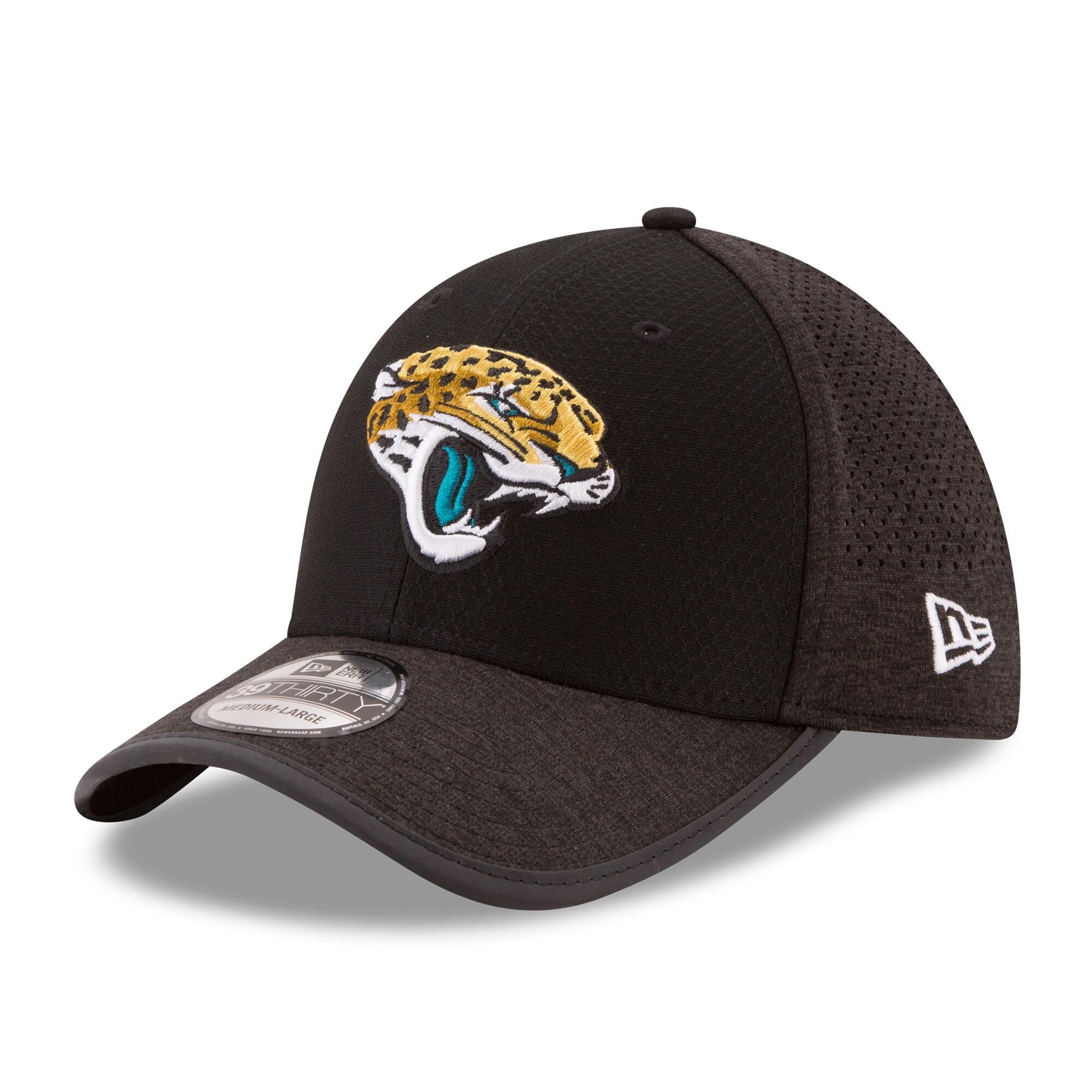 Jacksonville Jaguars New Era 2017 Training Camp Official 39THIRTY Flex Hat - Black
