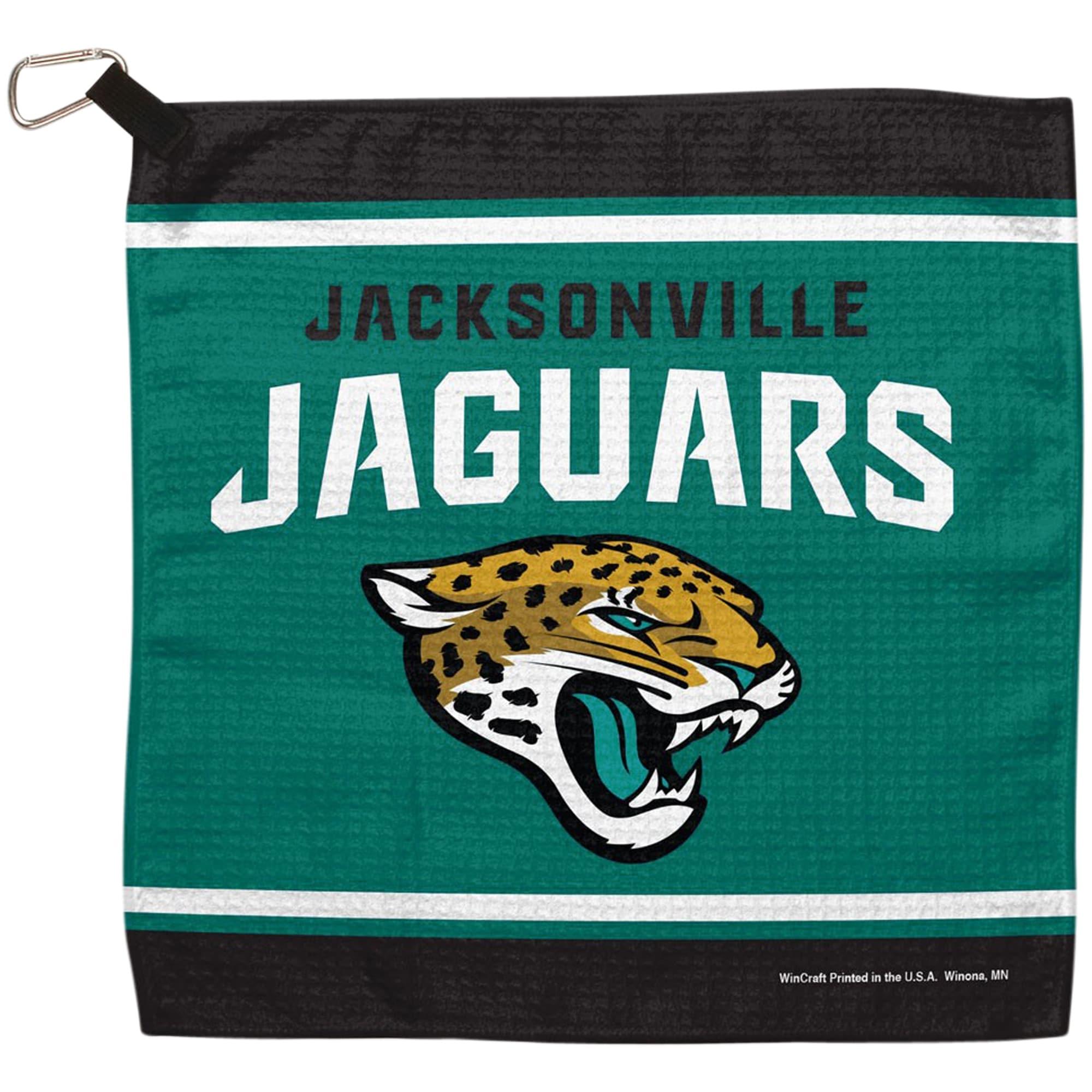 "Jacksonville Jaguars WinCraft 13"" x 13"" Waffle Towel"