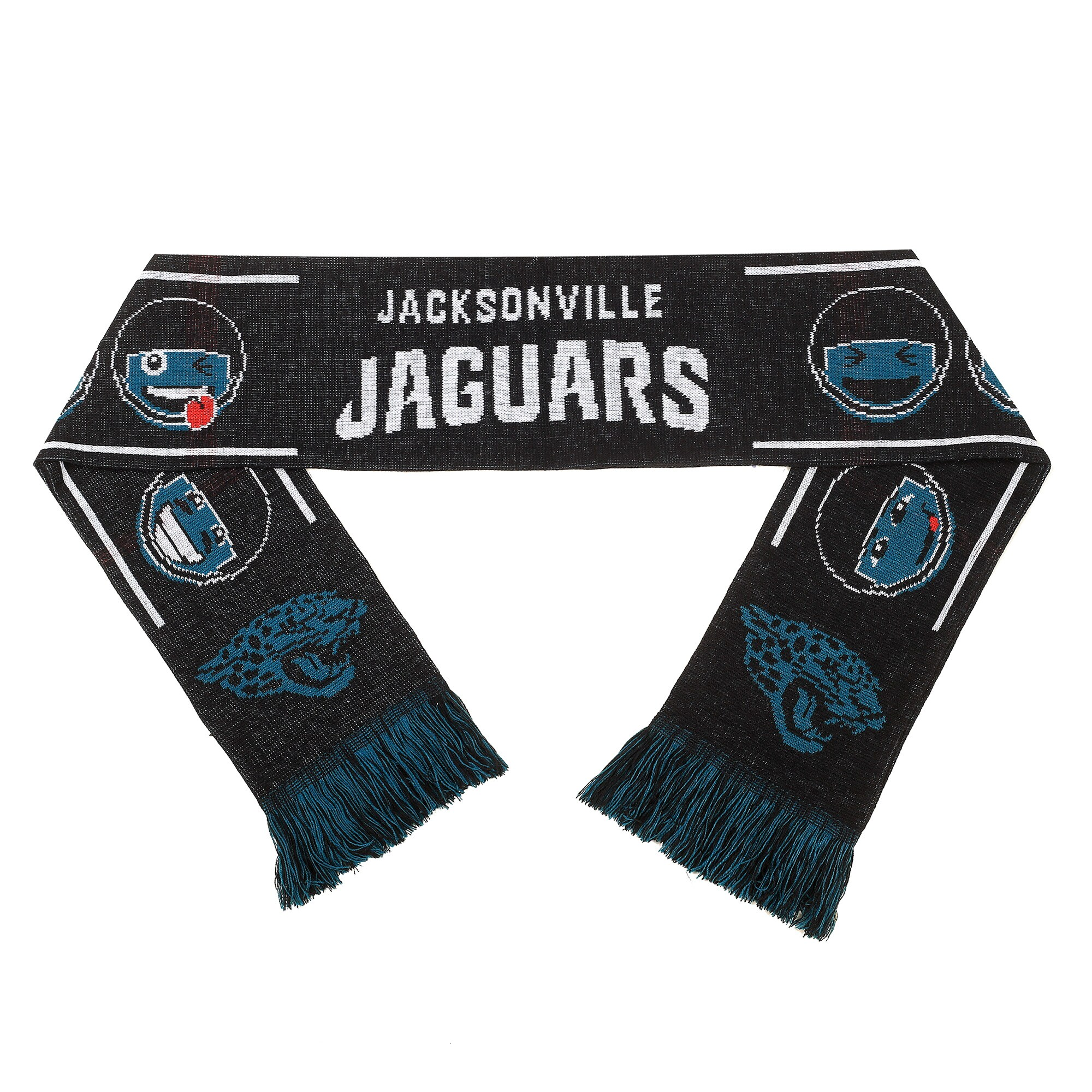 Jacksonville Jaguars Teamoji Acrylic Scarf