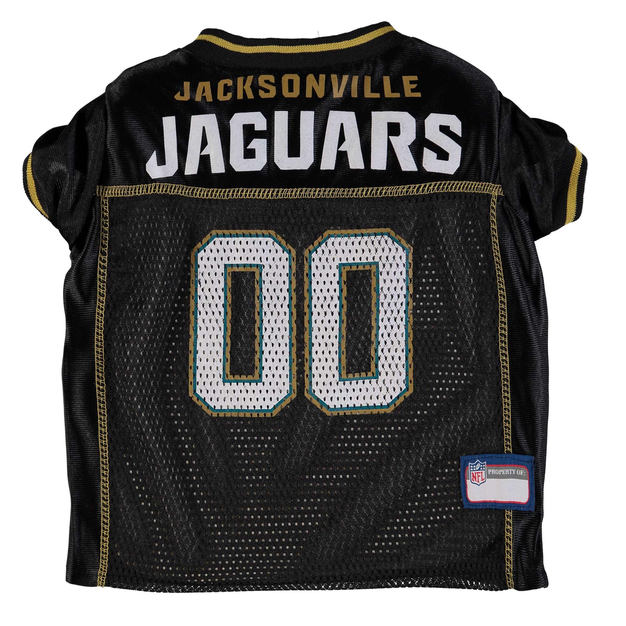 Jacksonville Jaguars Mesh Dog Jersey