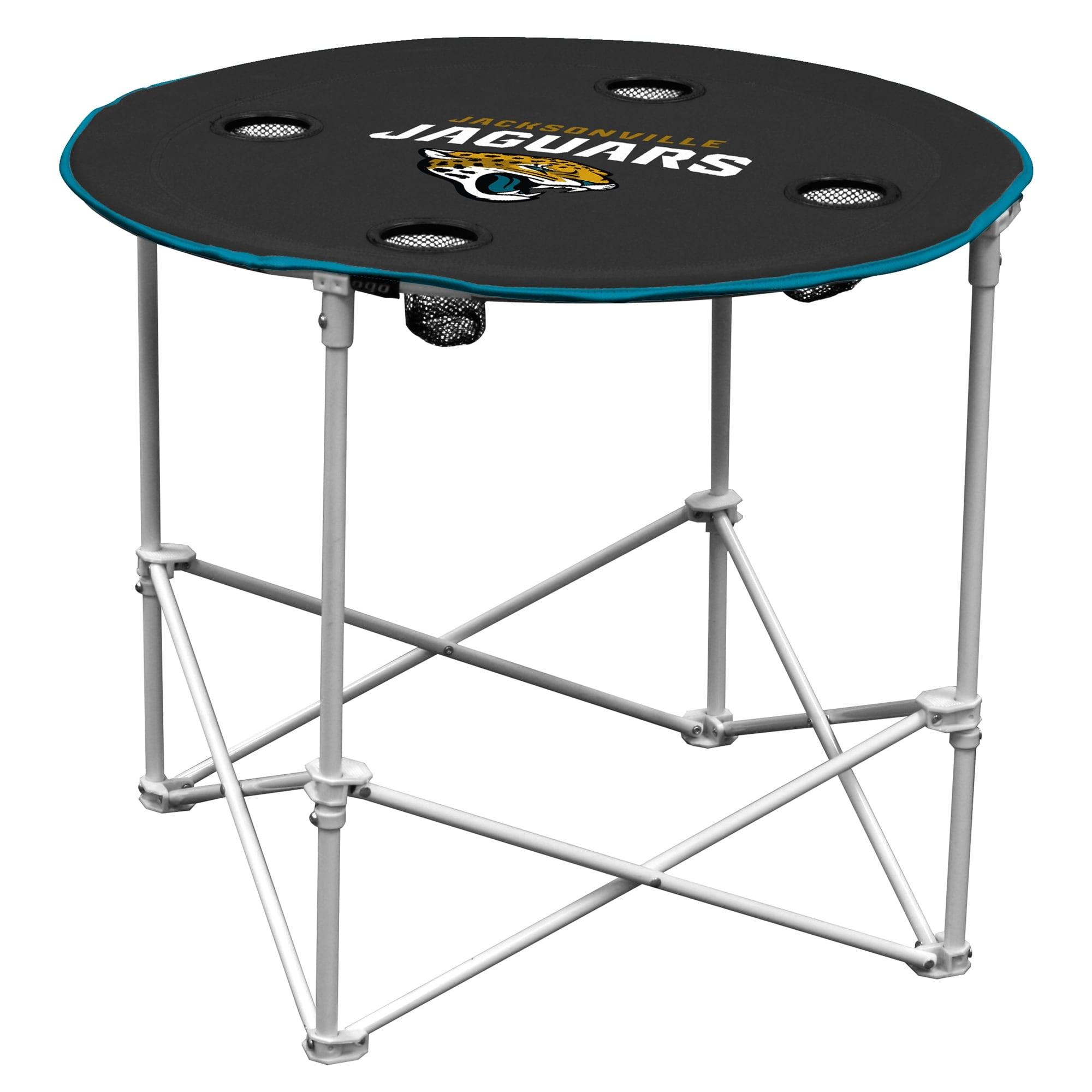Jacksonville Jaguars Round Table - Black