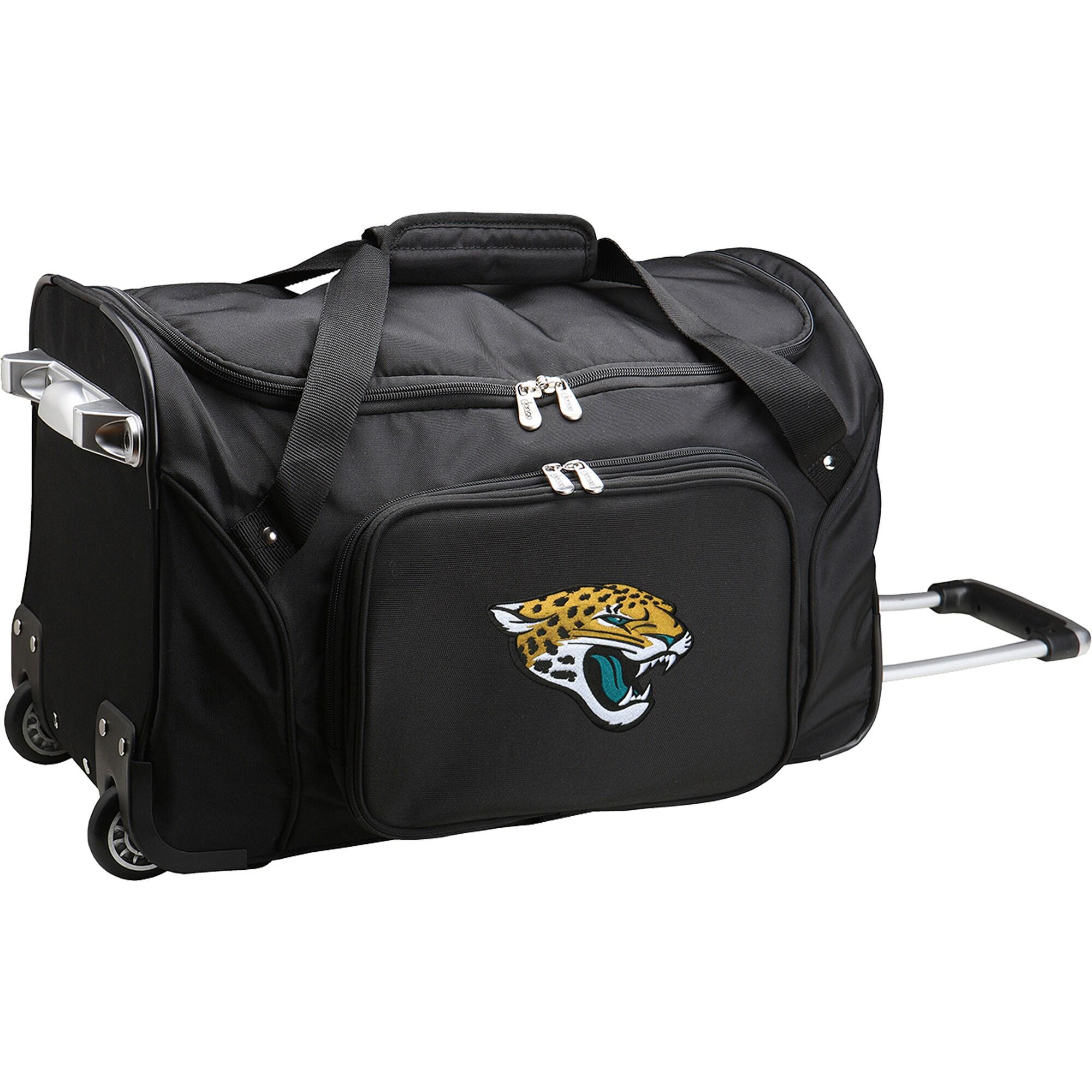 "Jacksonville Jaguars 22"" 2-Wheeled Duffel Bag - Black"