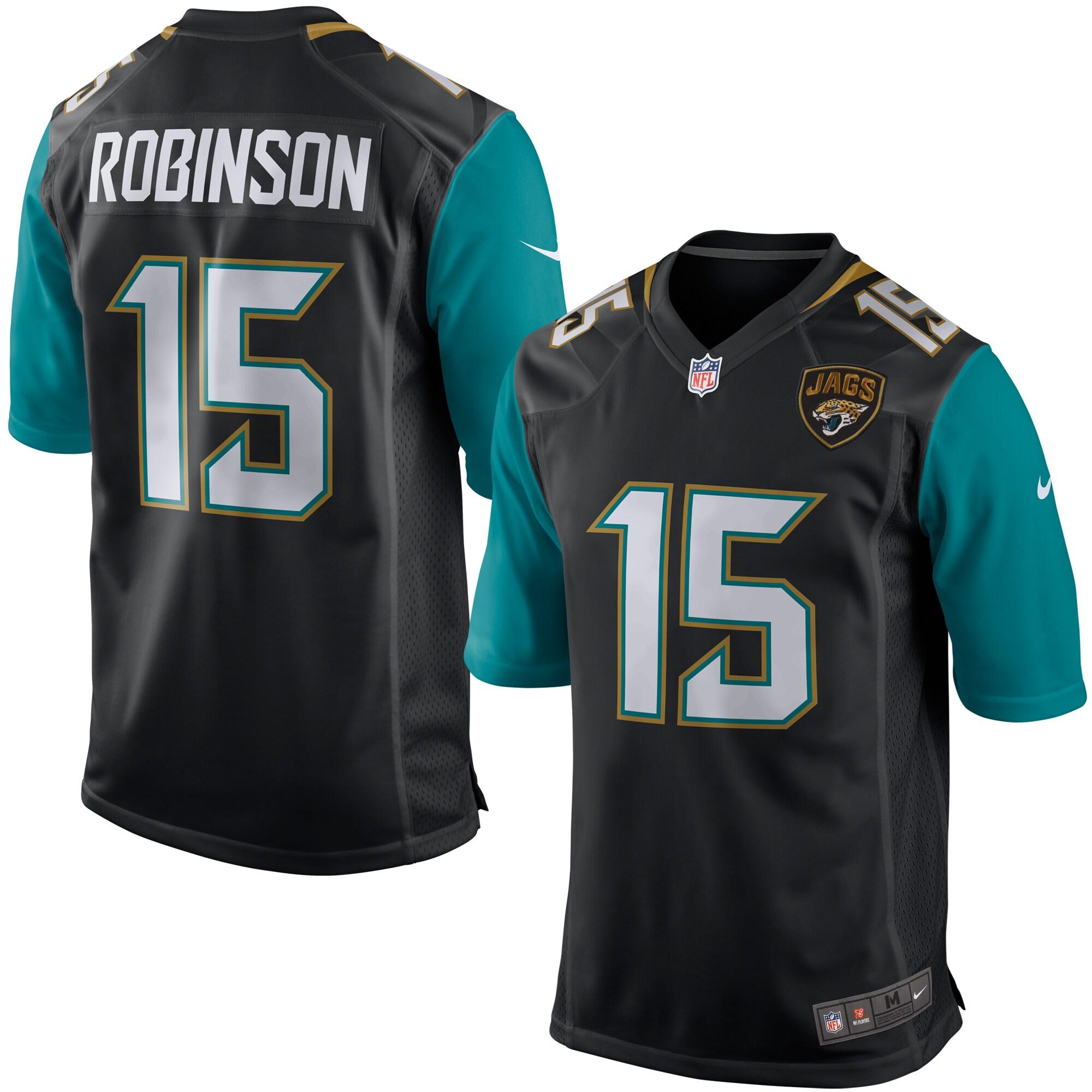 Allen Robinson Jacksonville Jaguars Nike Game Jersey - Black