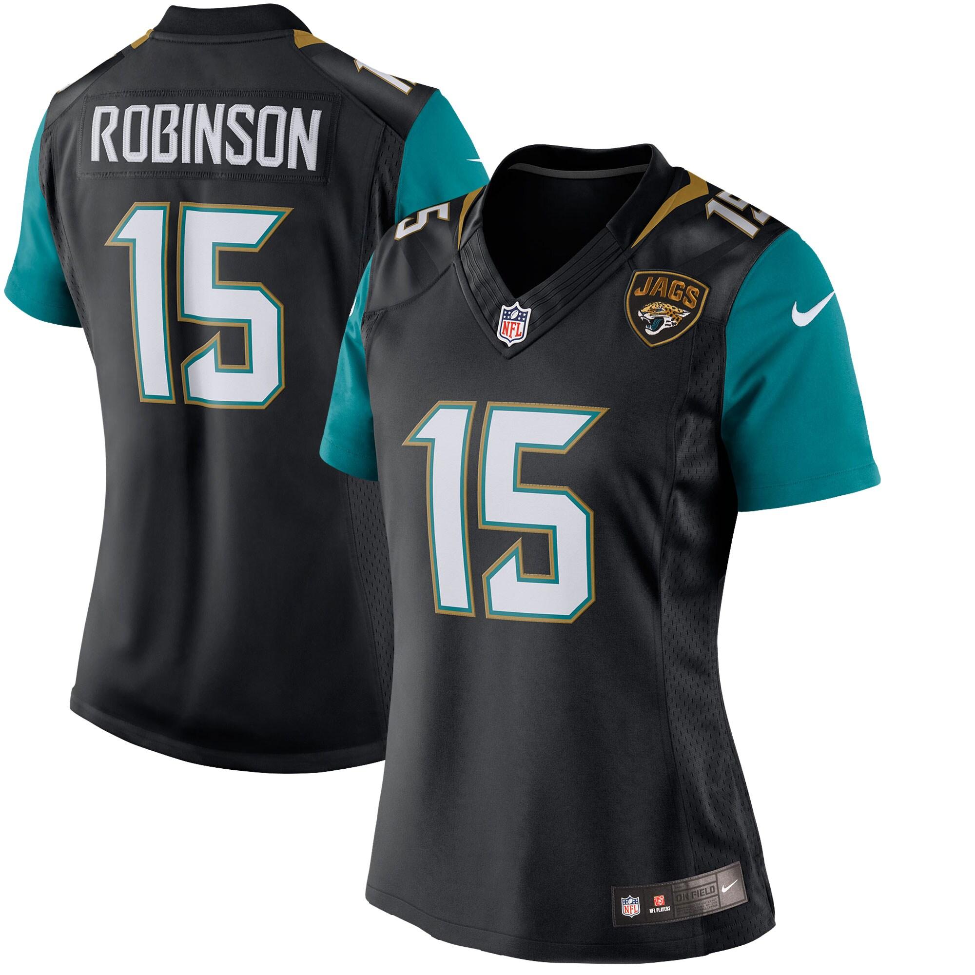 Allen Robinson Jacksonville Jaguars Nike Women's Limited Jersey - Black